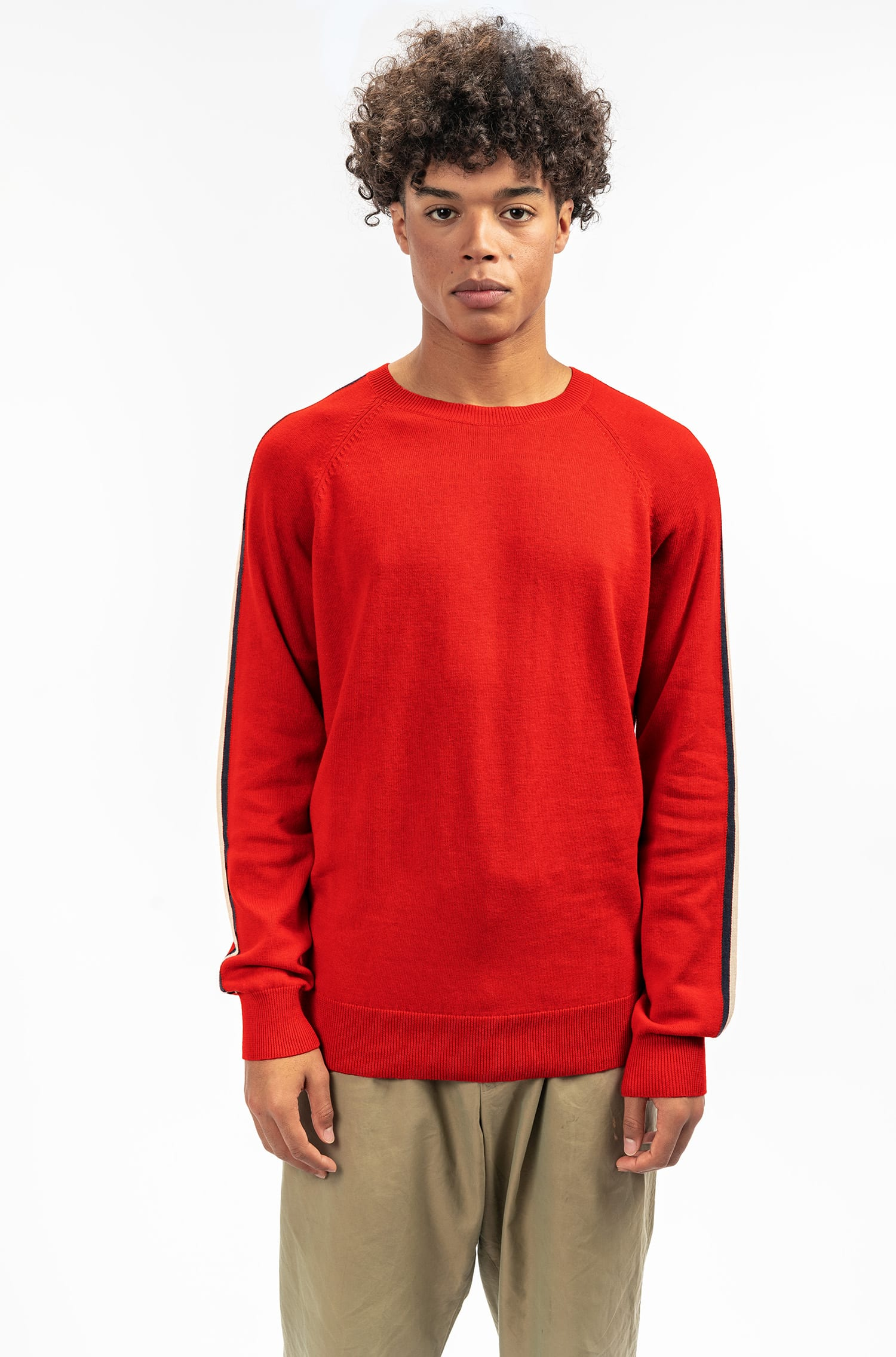 Stapleton Knitwear - Red