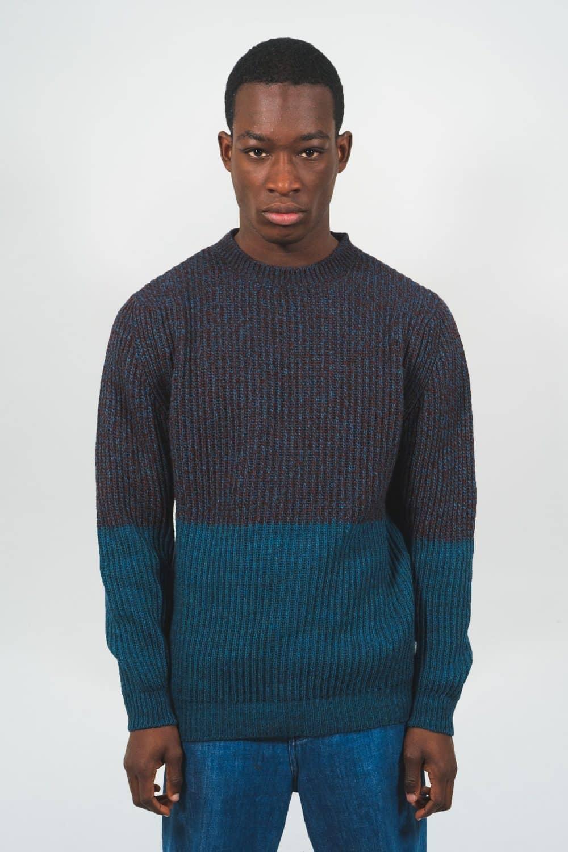 Itten Knitwear - Purple Castart men's clothing AW19