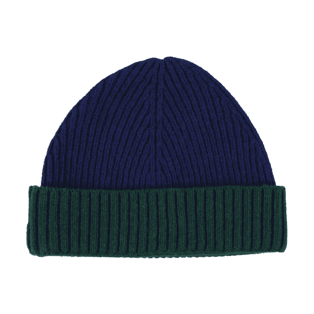 castart colorful accessories - colored beanie mies green dark blue