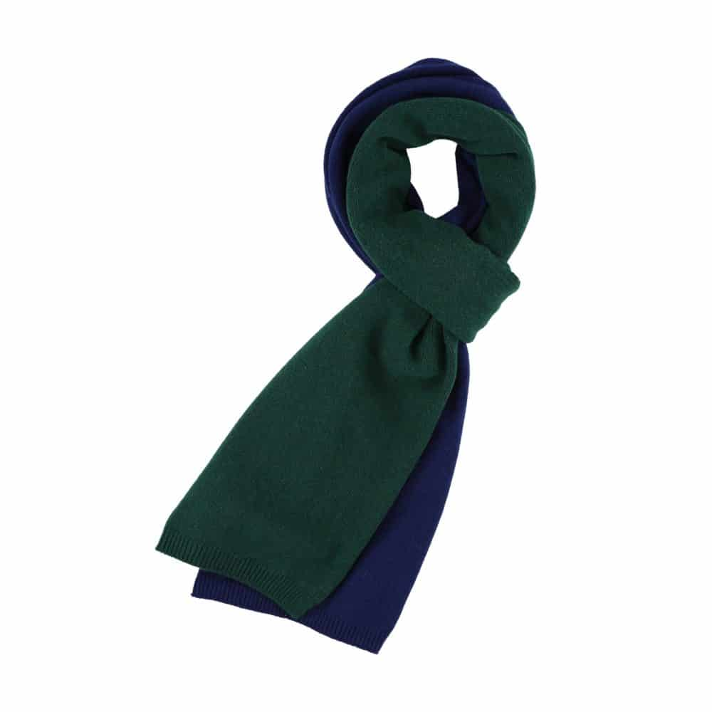 castart colorful accessories - colored scarf blue green