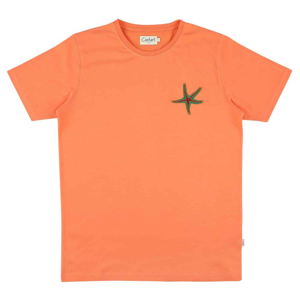 Arran T-shirt - Melon