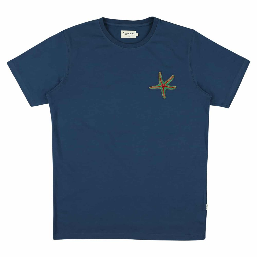 Arran T-shirt - Navy