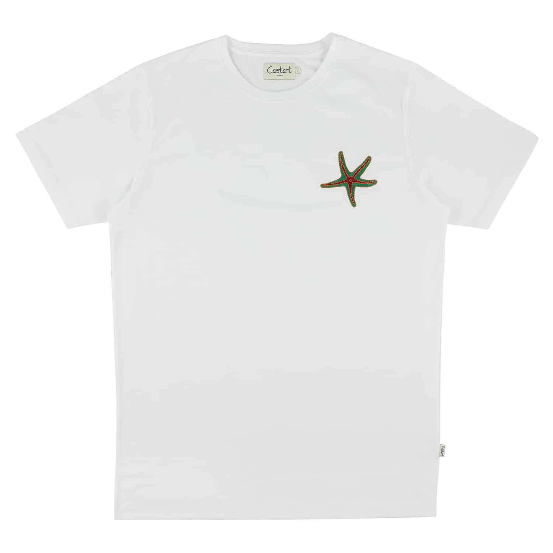 Arran T-shirt - White