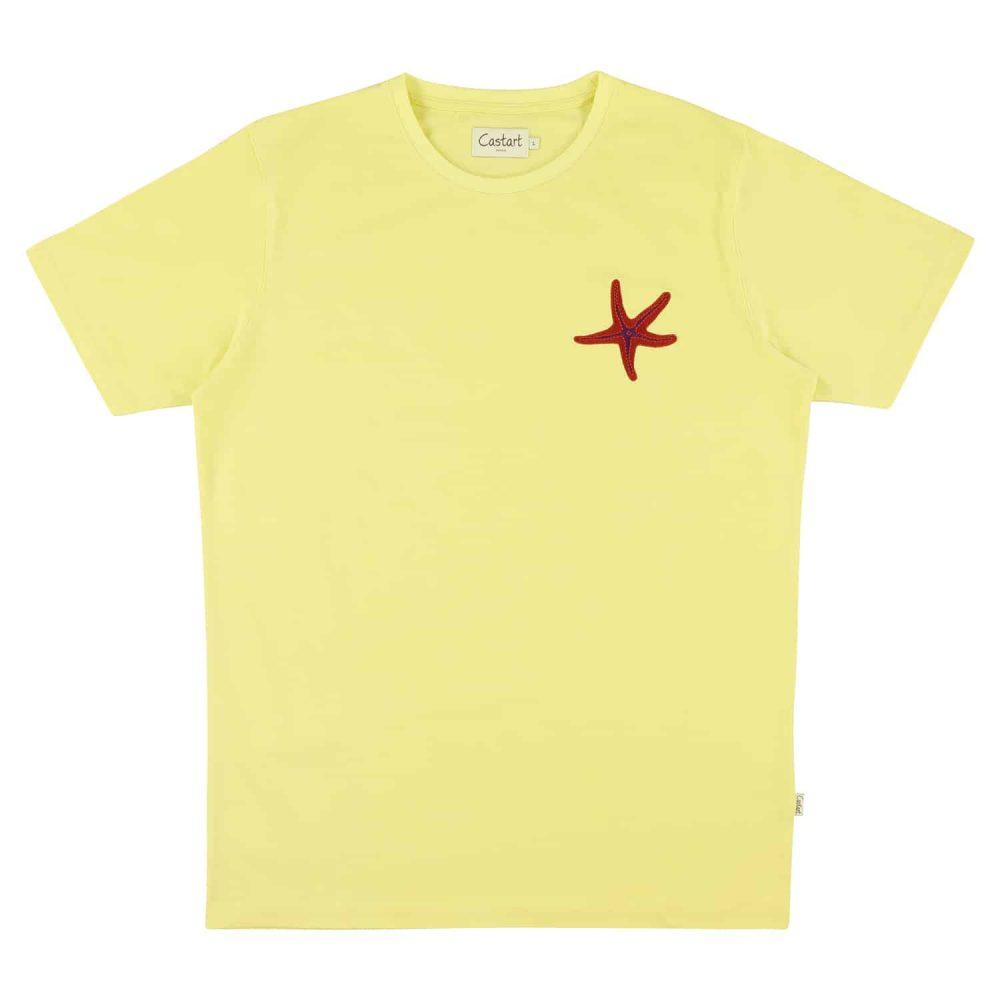 Arran T-shirt - Yellow