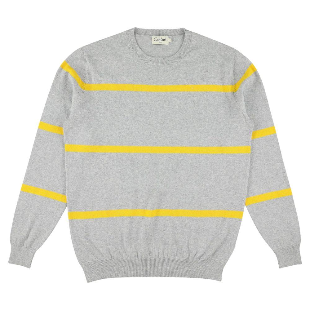 Pendine Knitwear - Mid Grey