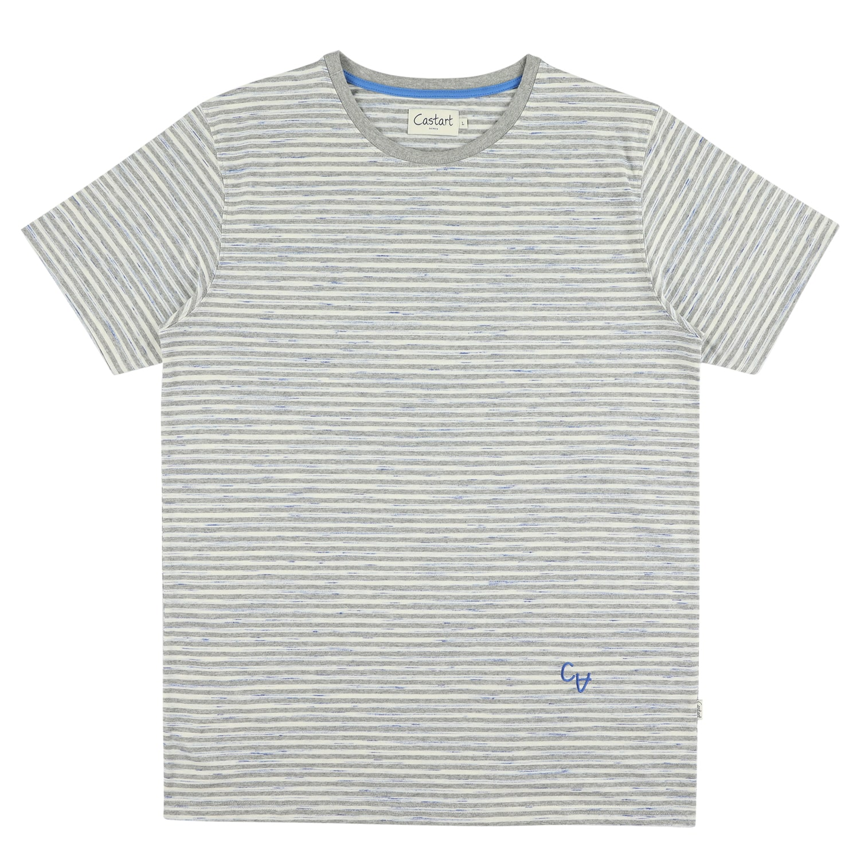 Salcombe T-shirt - Mid Grey