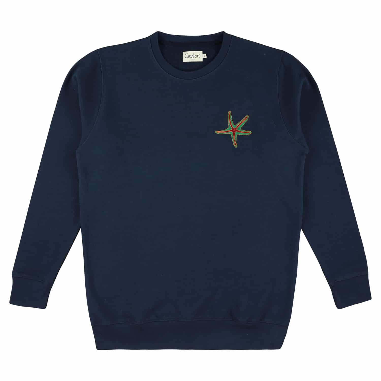 Tenby Sweater - Navy