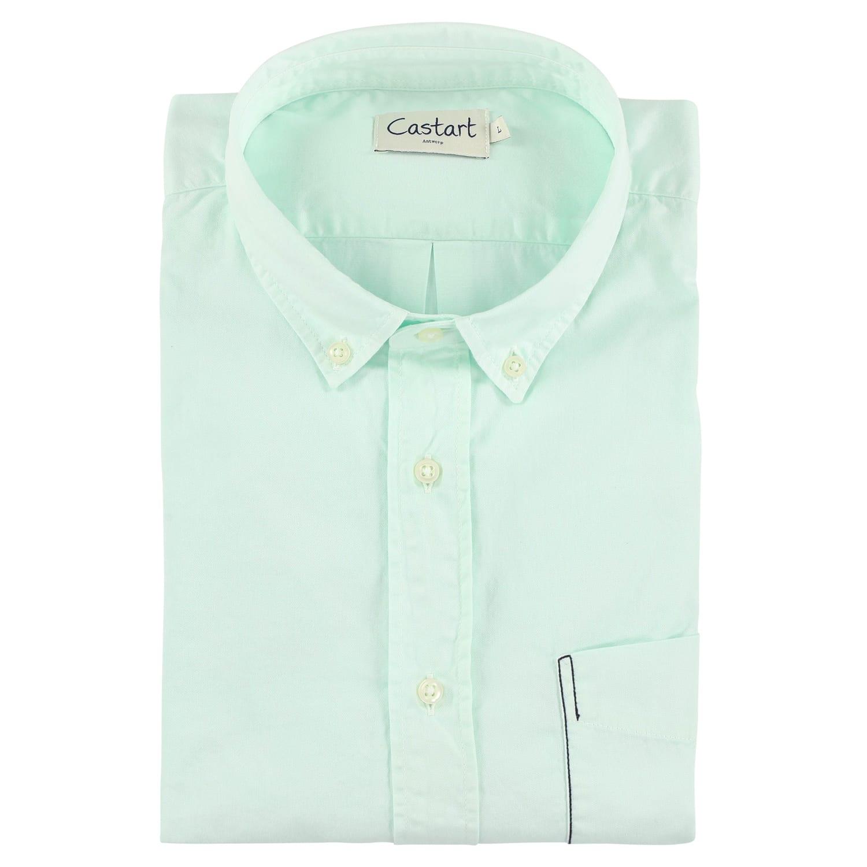 Filey Shirt - Aqua
