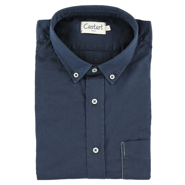 Filey Shirt - Navy