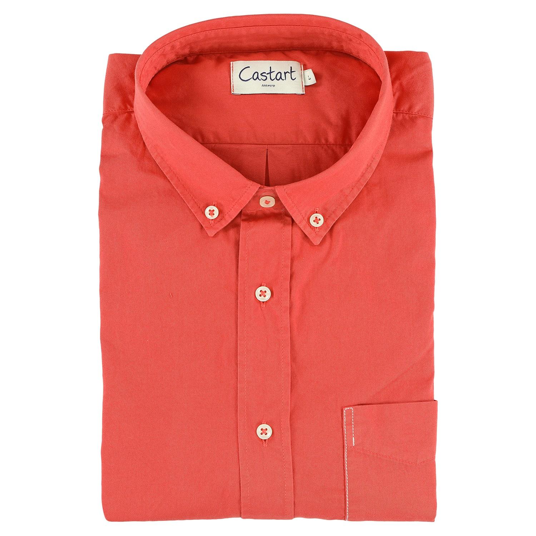 Filey Shirt - Paprika