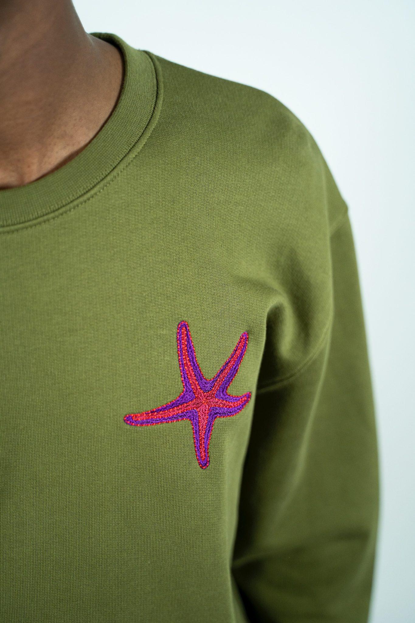 Tenby Sweater - Khaki