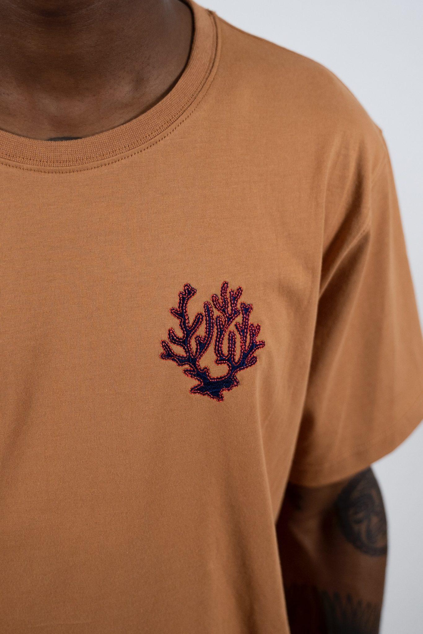 Sky T-shirt - Camel