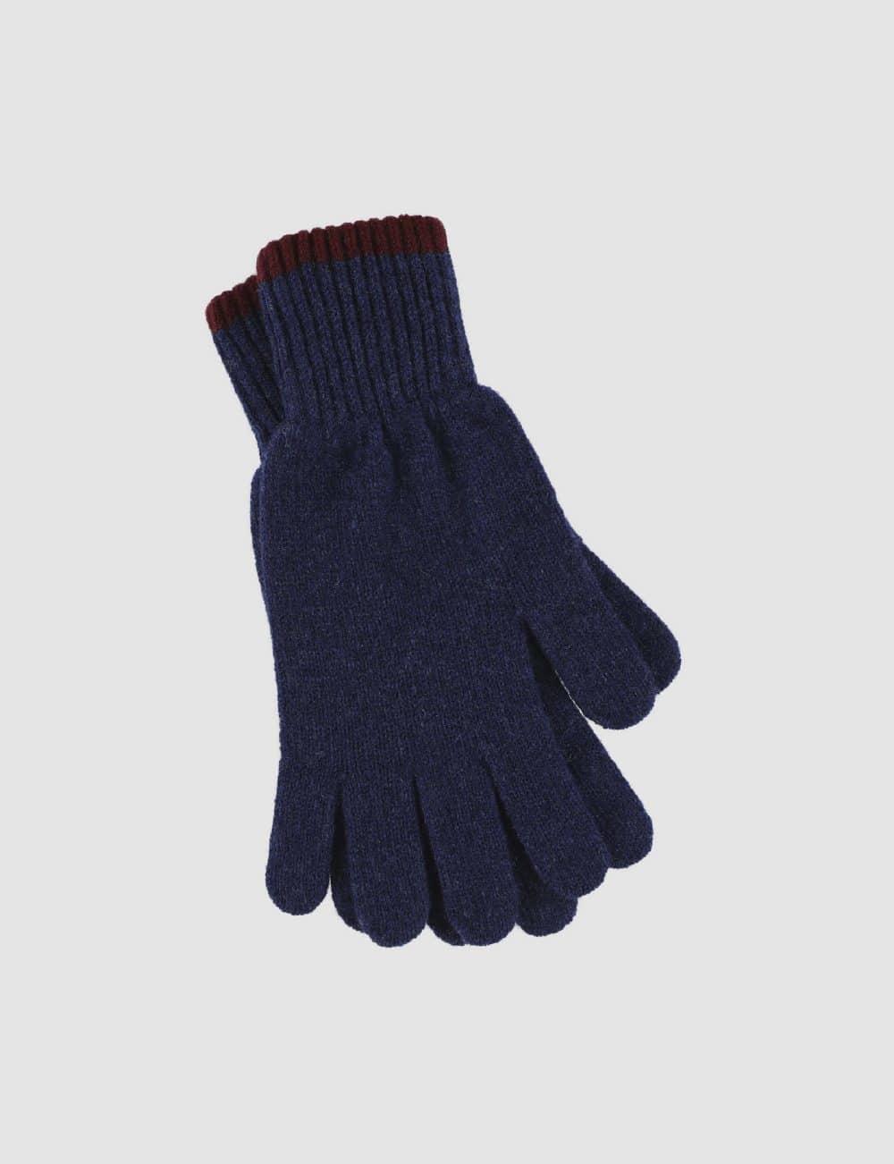 Gloves - Navy Blue