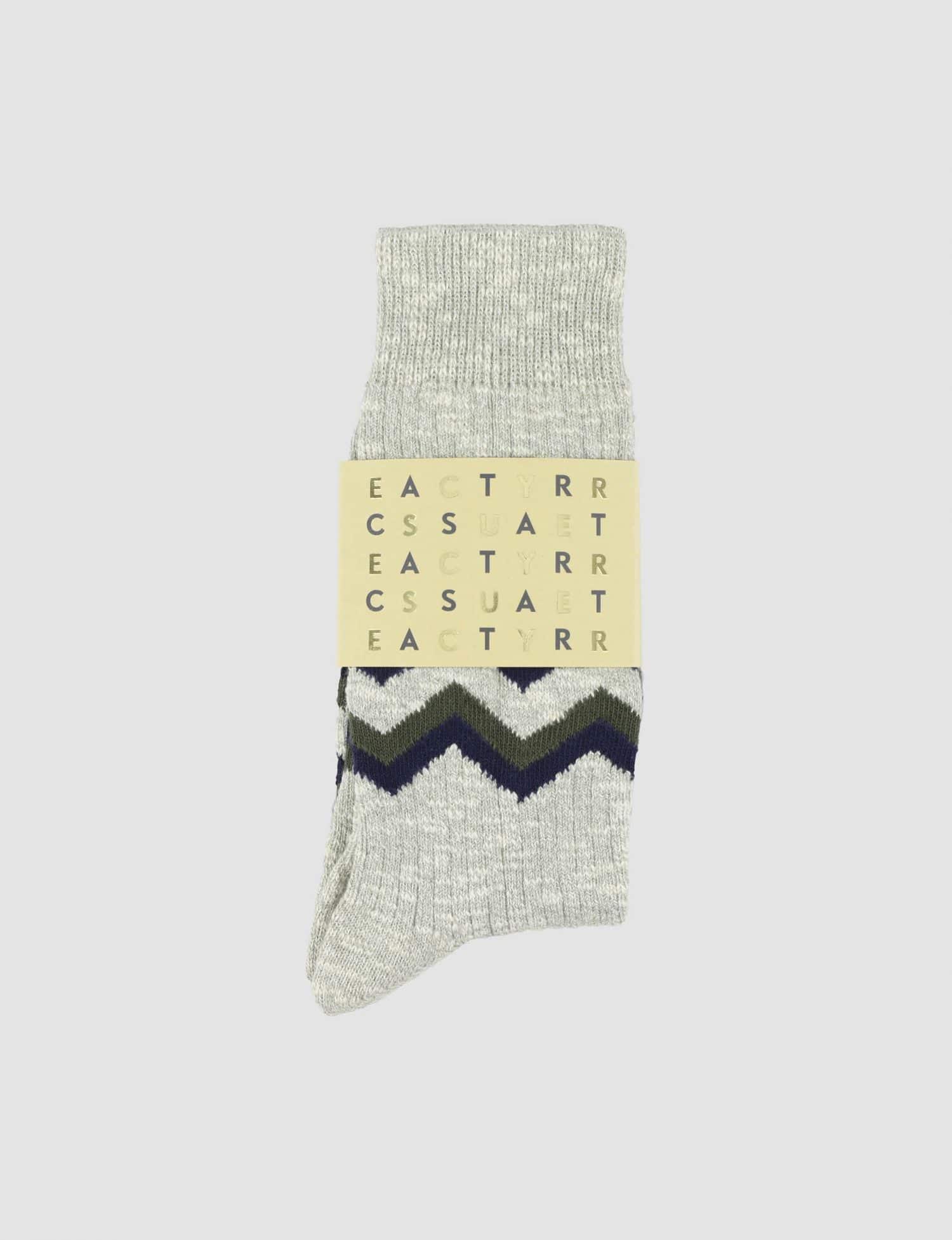 Castart x Escuyer - Zigzag - Middle Grey