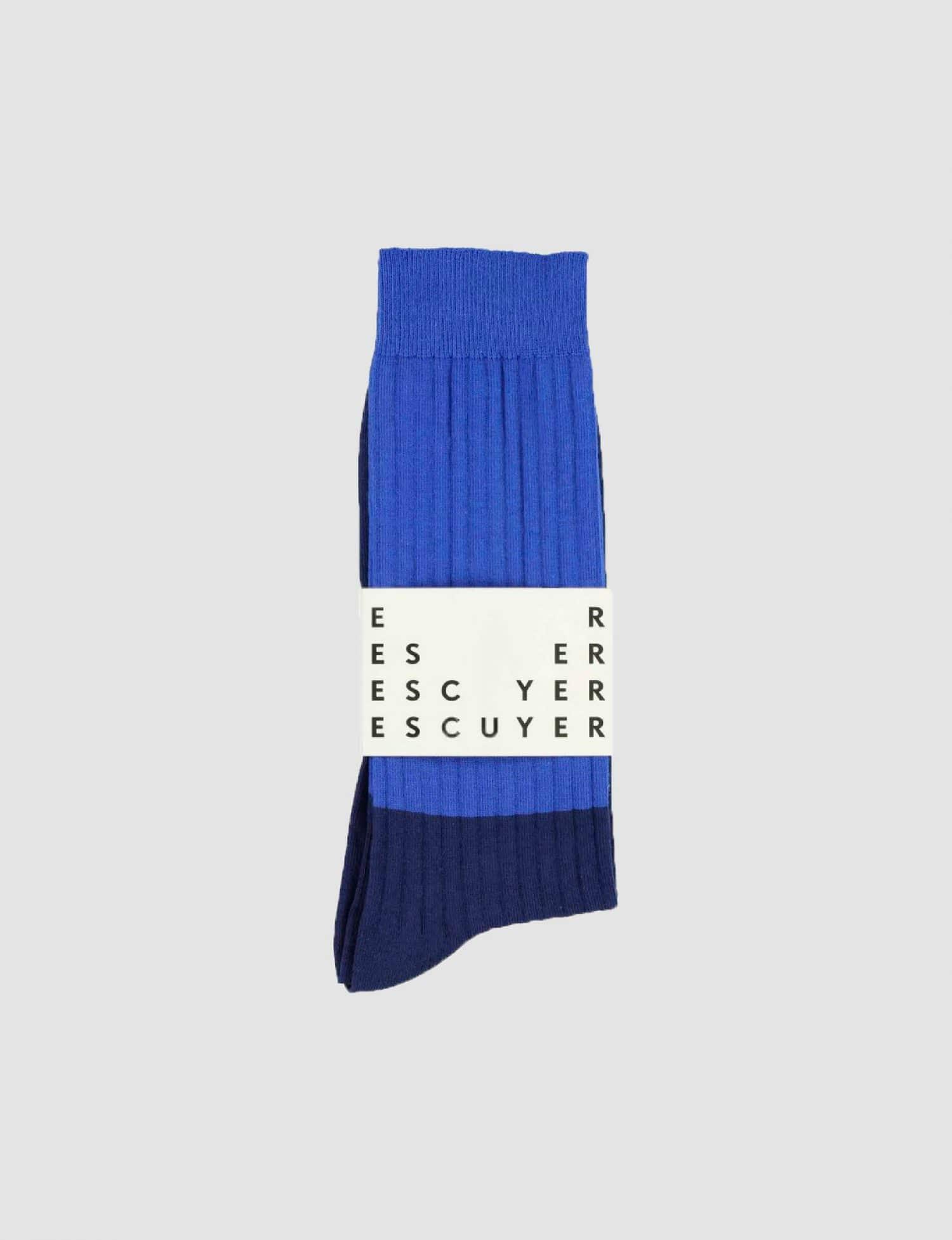 Escuyer - Color block - Blue
