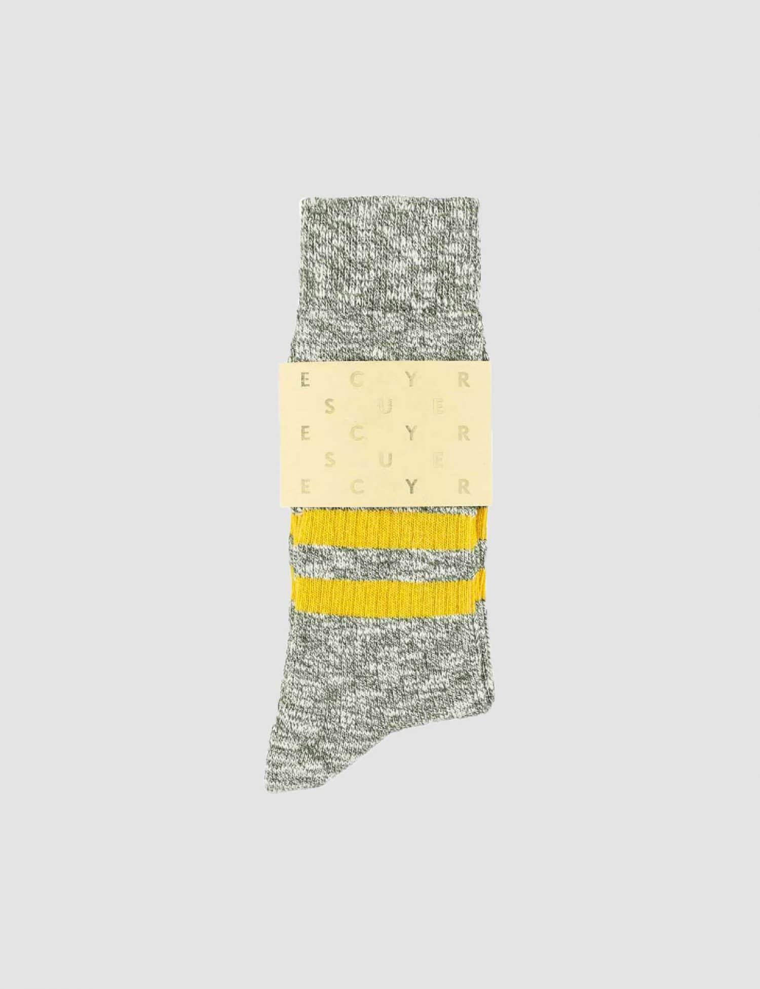 Escuyer - Stripes - Mustard