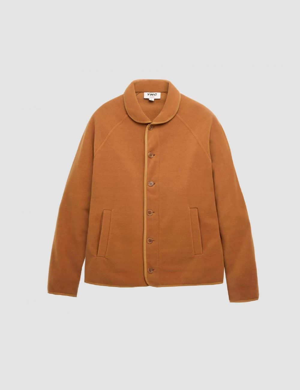 YMC - Beach fleece - Brown