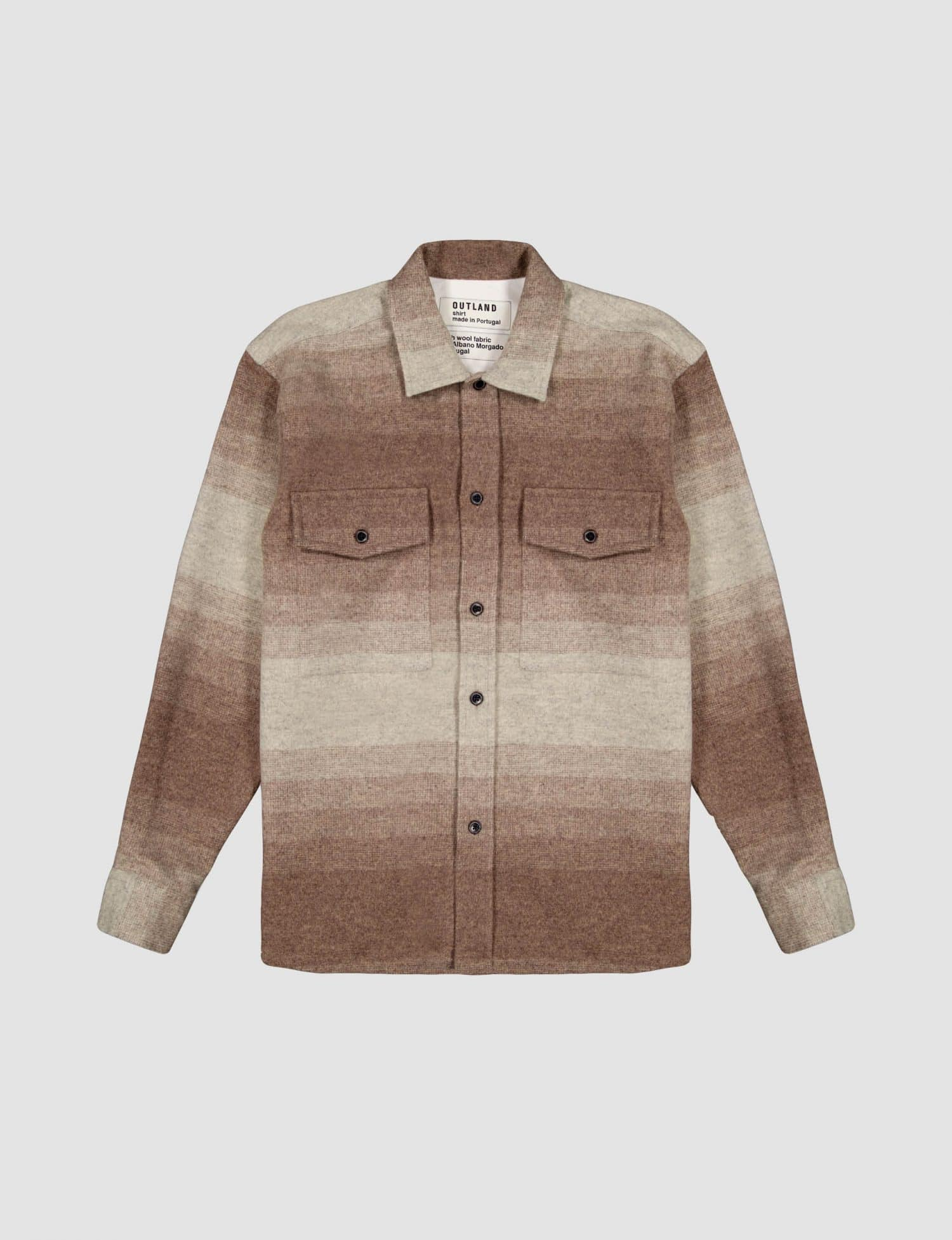 Outland - Army wool - Brown