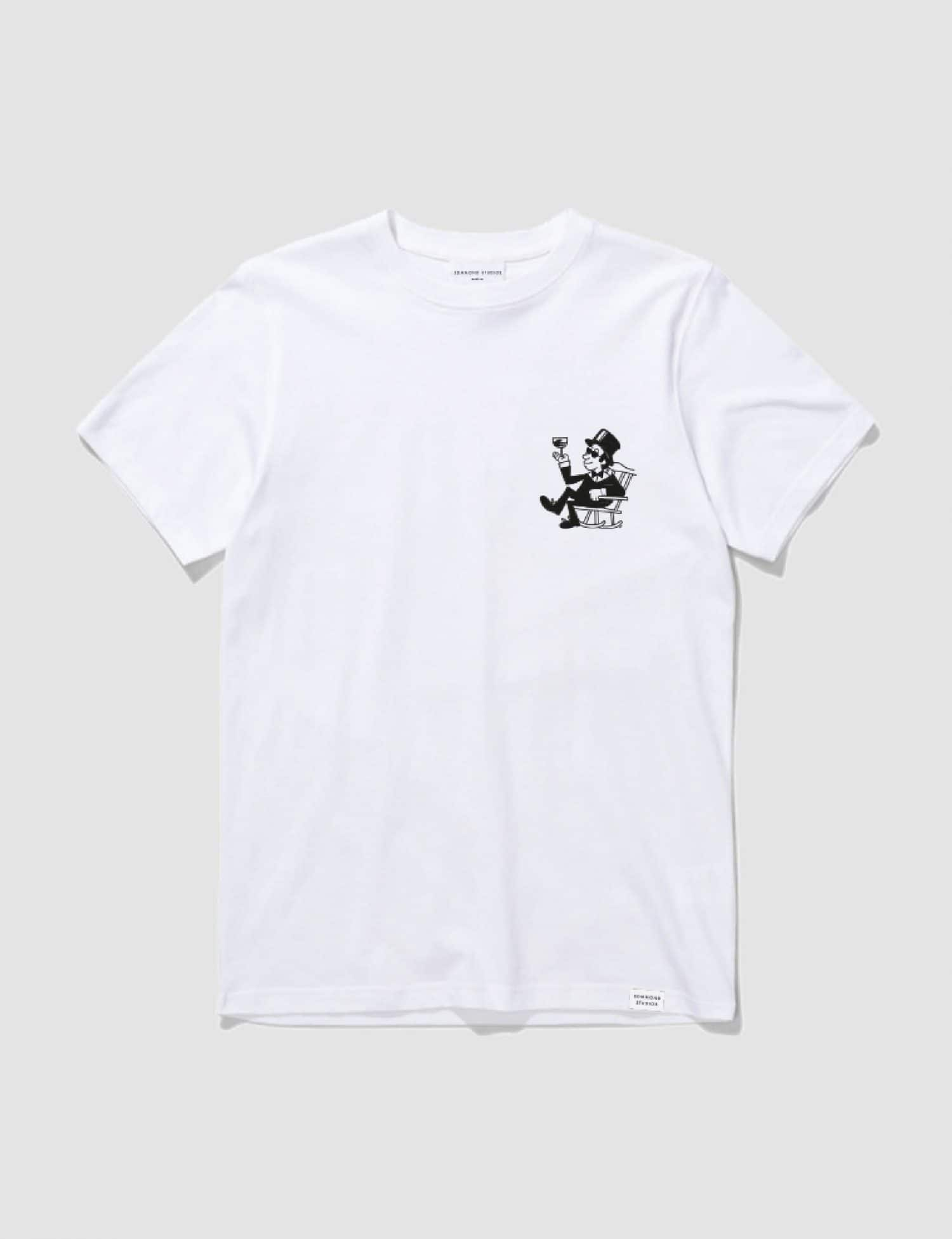 Castart - Edmmond Old is good T-shirt white