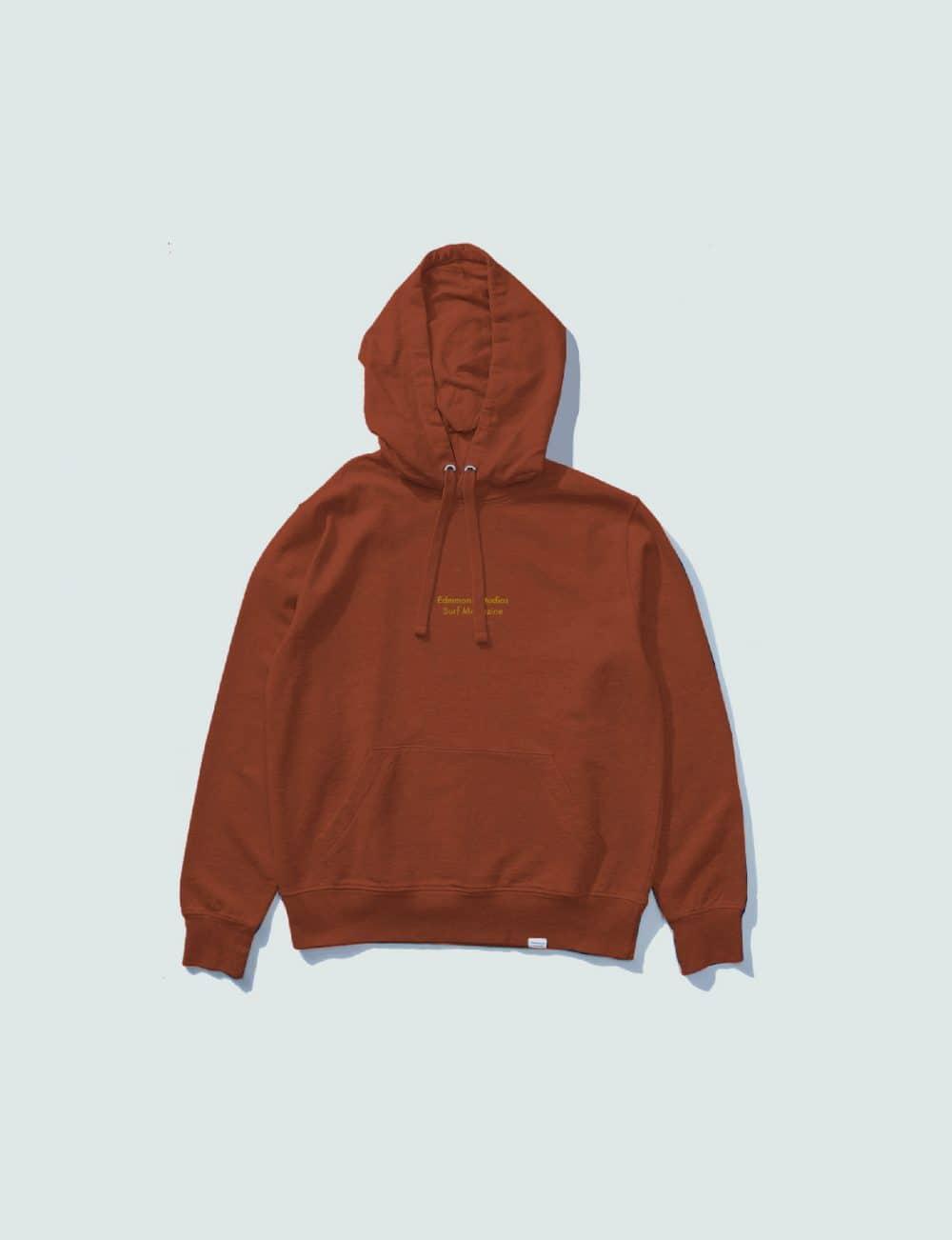 Castart - Edmmond ESSM hoodie - Rust