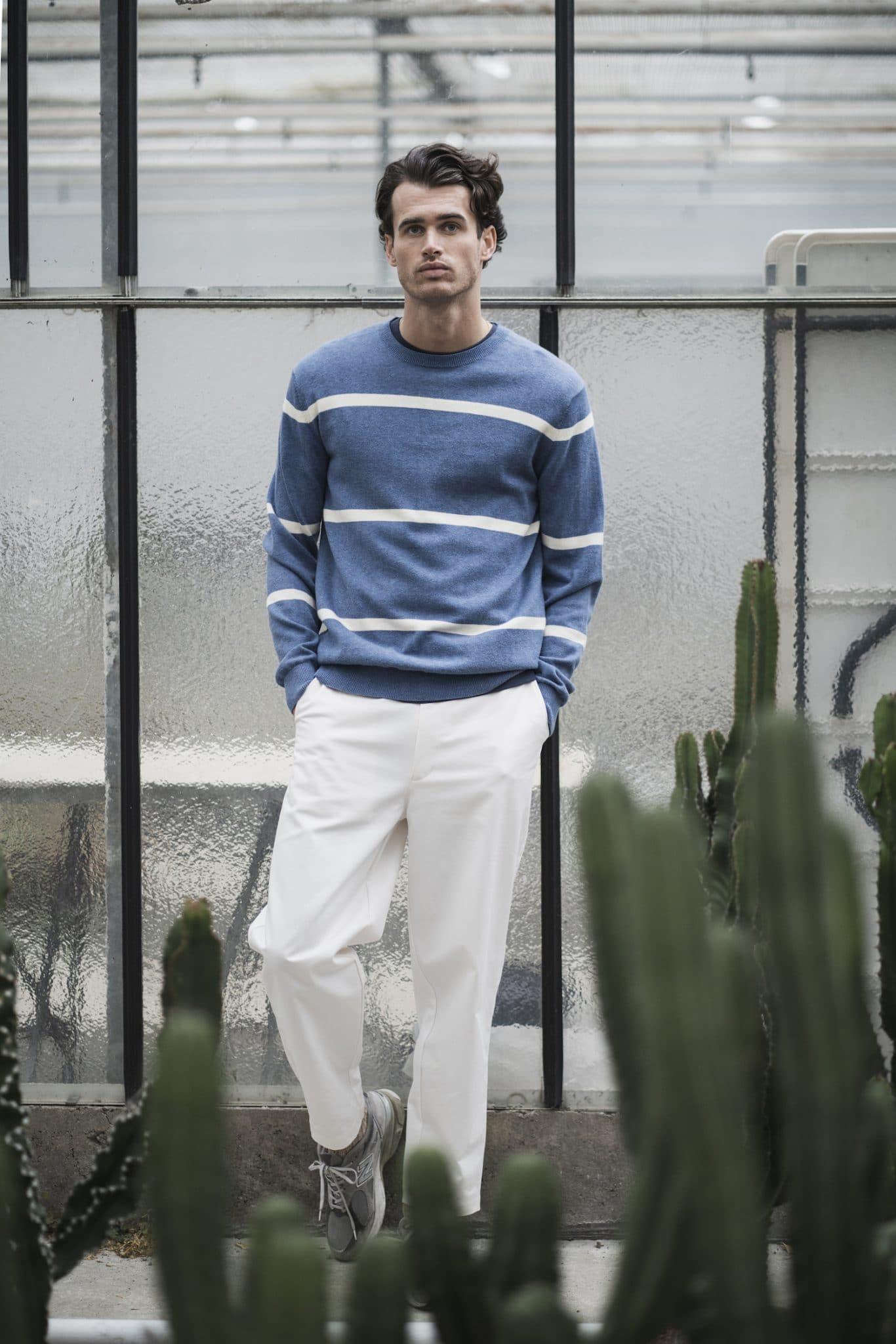 Castart - Pendine knitwear - French Blue