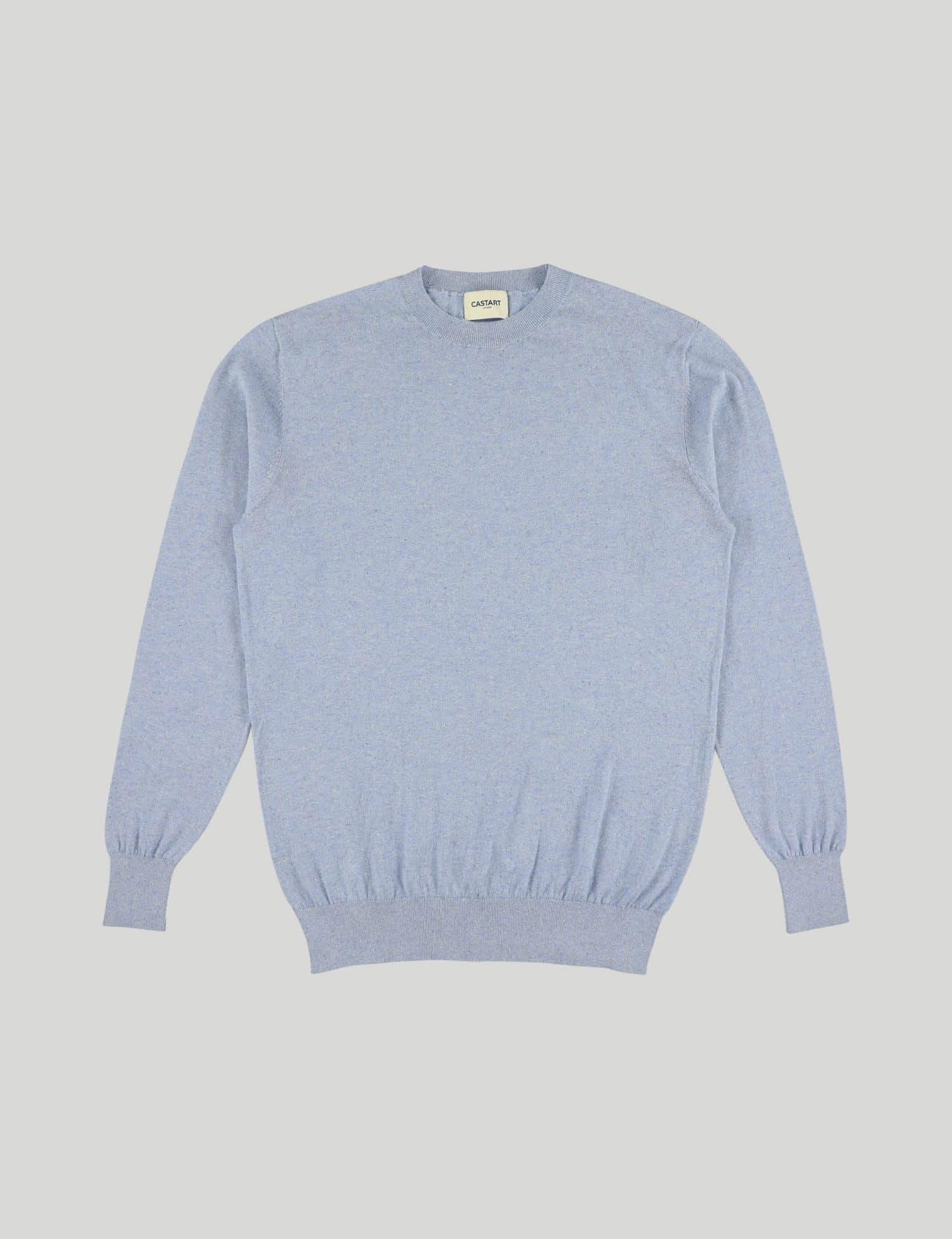 Castart - Talacre knitwear - Light Blue