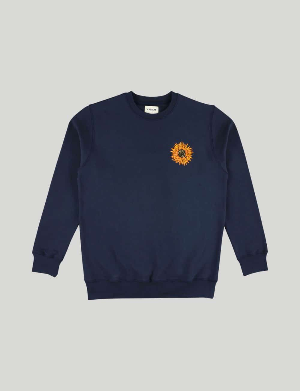 Castart - Mari Posa Sweater - Navy