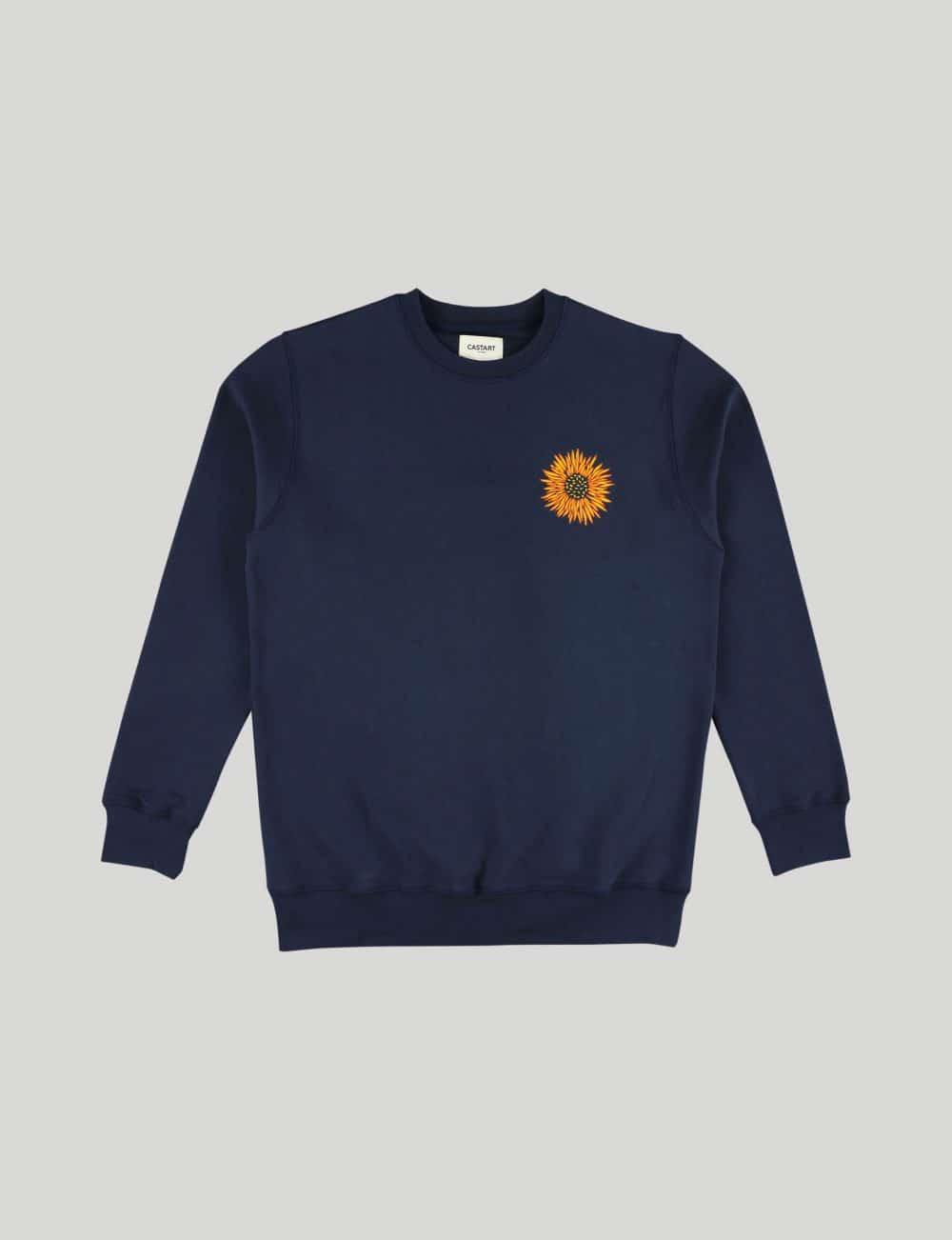 Castart - Mari Posa Sweater - Navy