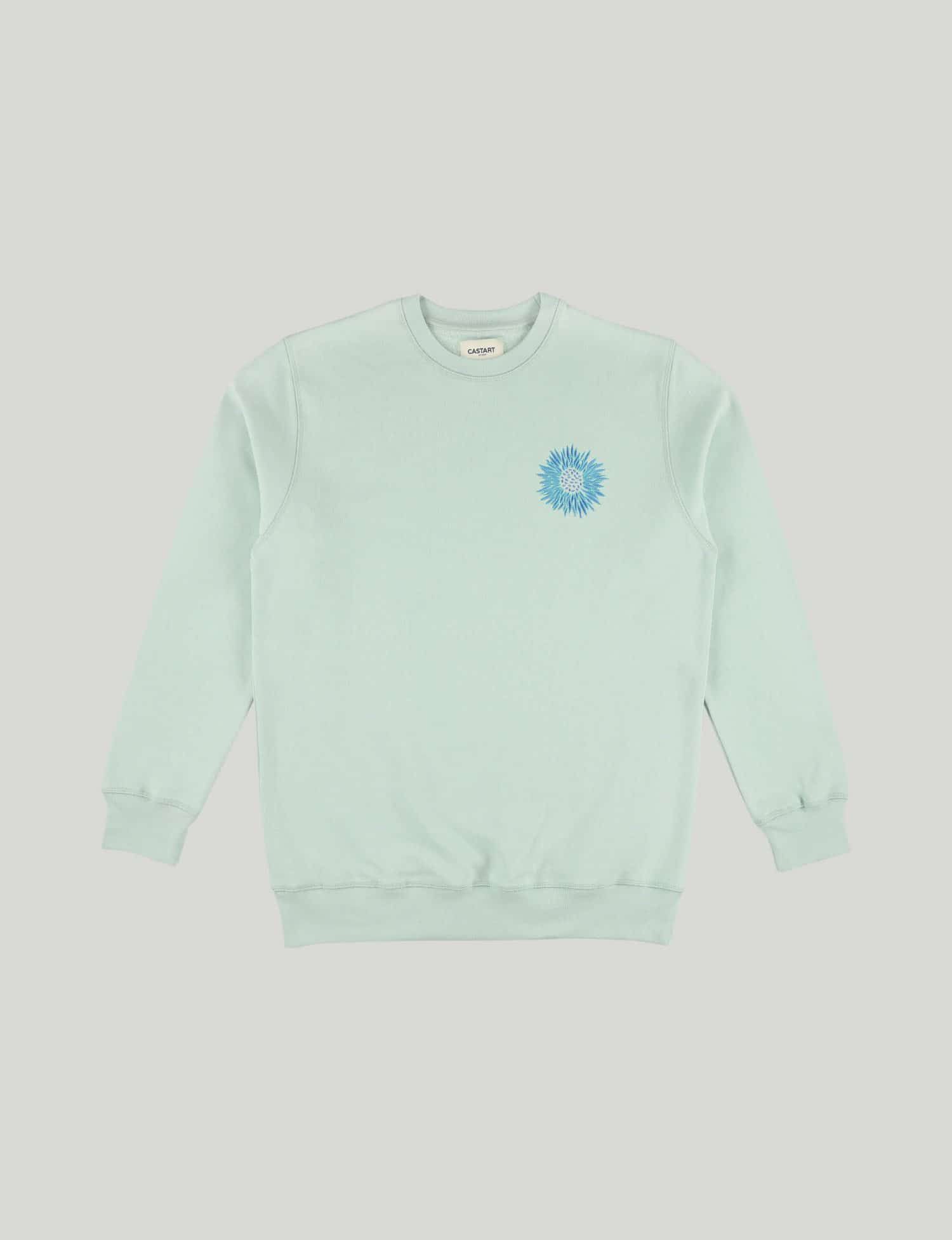 Castart - Mari Posa Sweater - Ice Blue