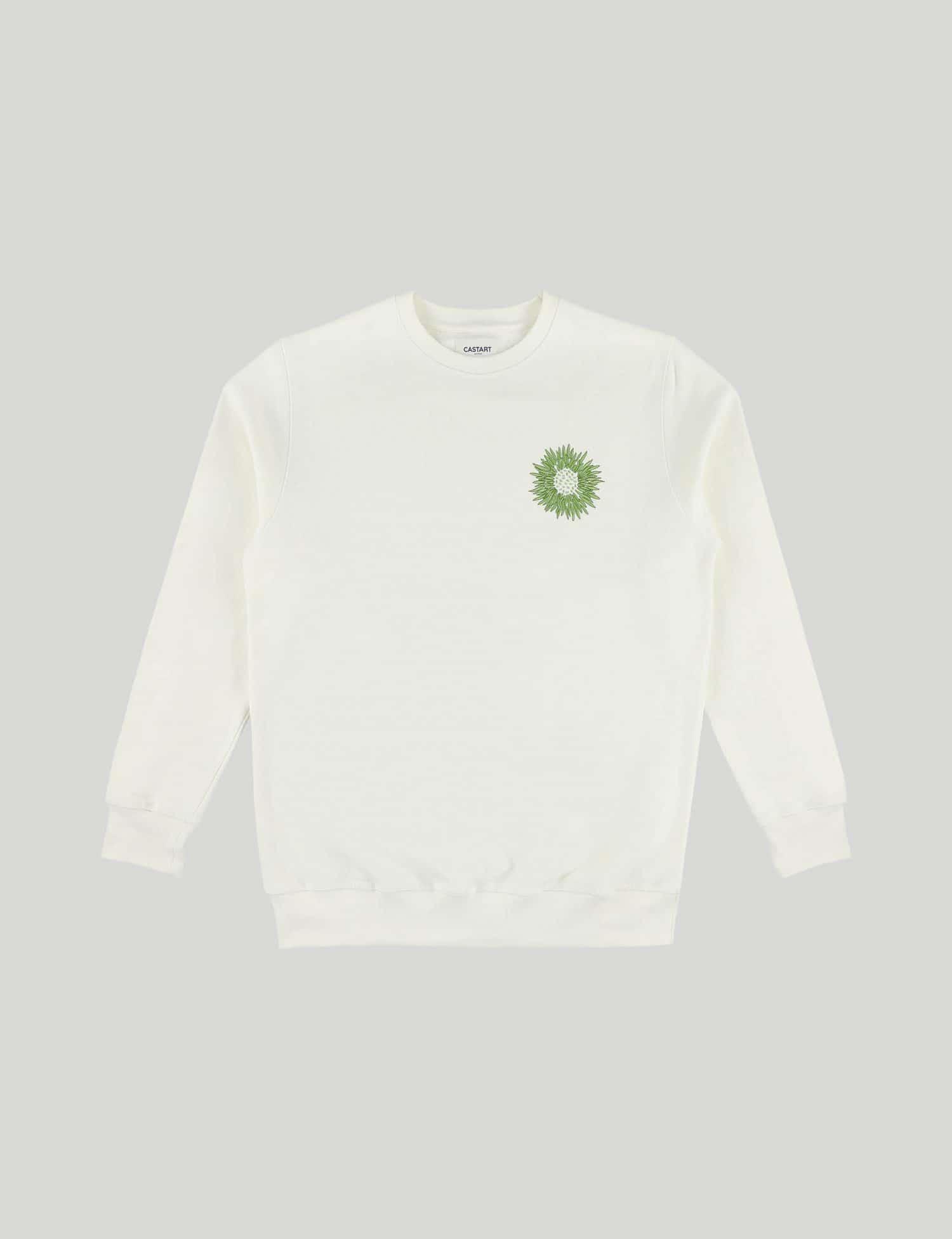 Castart - Mari Posa Sweater - Ecru