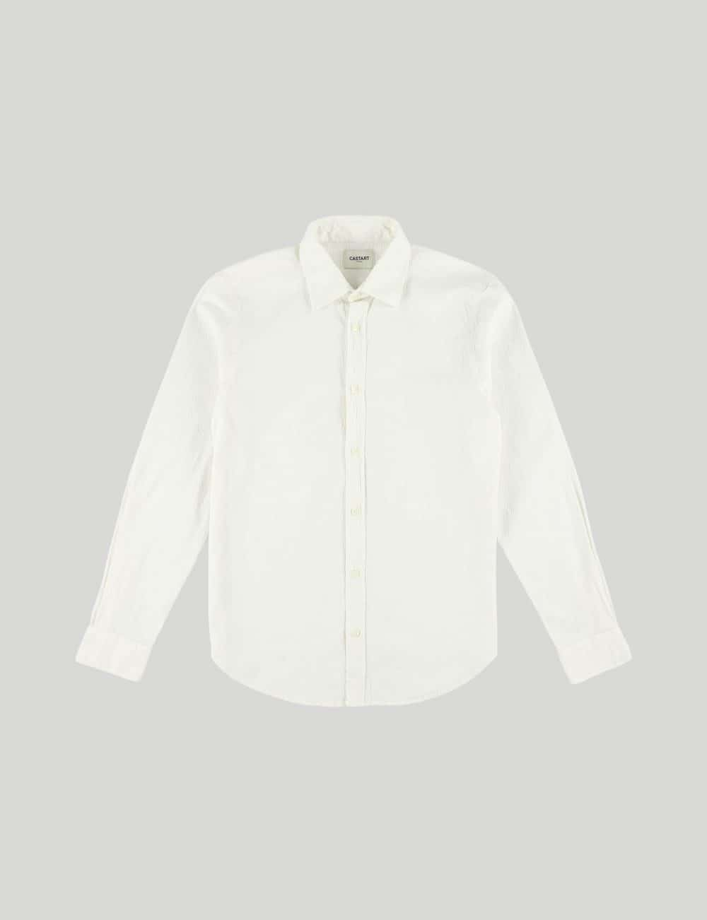 Castart - Tiger Tooth LS Shirt - Ecru
