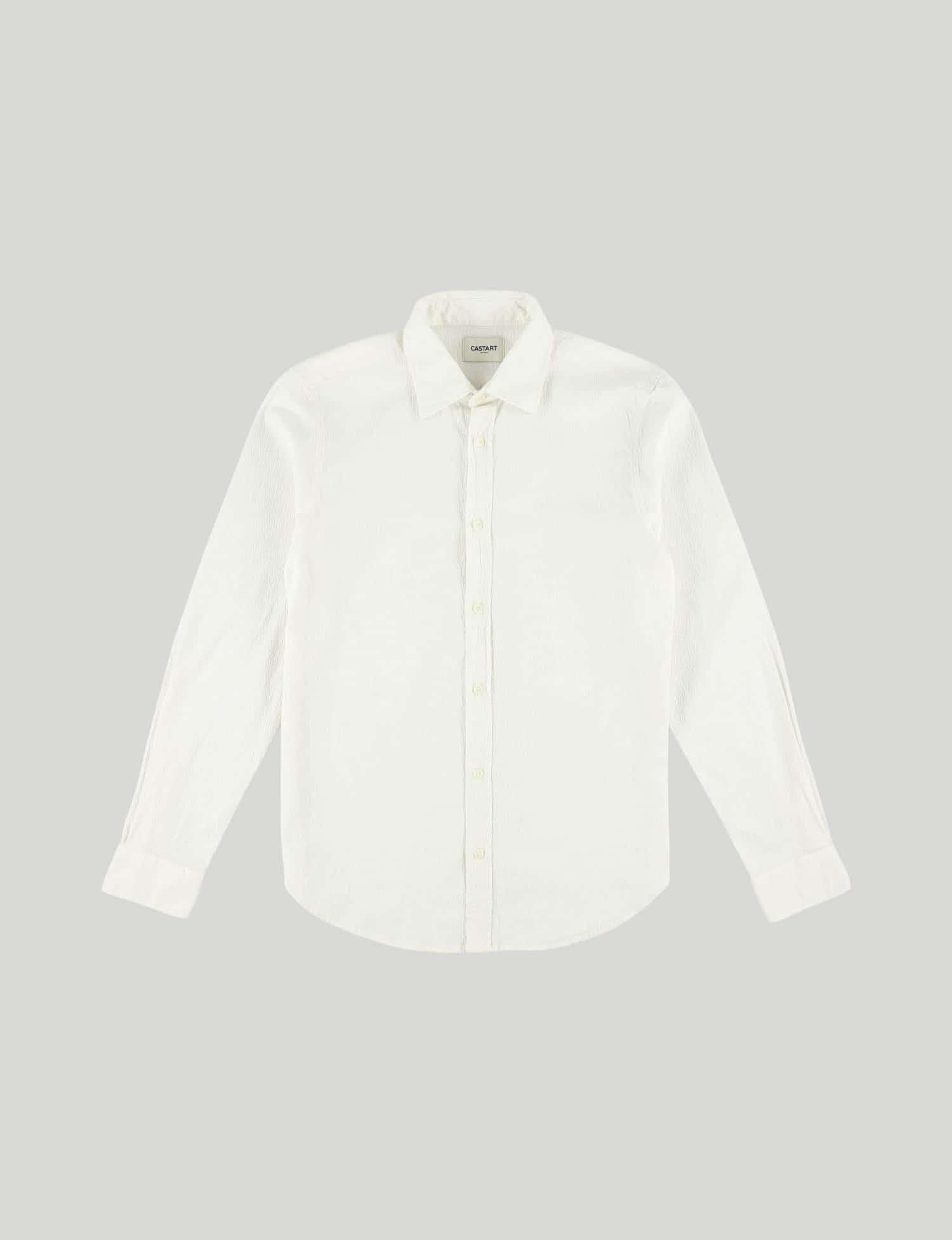 Castart - Tiger Tooth LS Shirt - Ecru