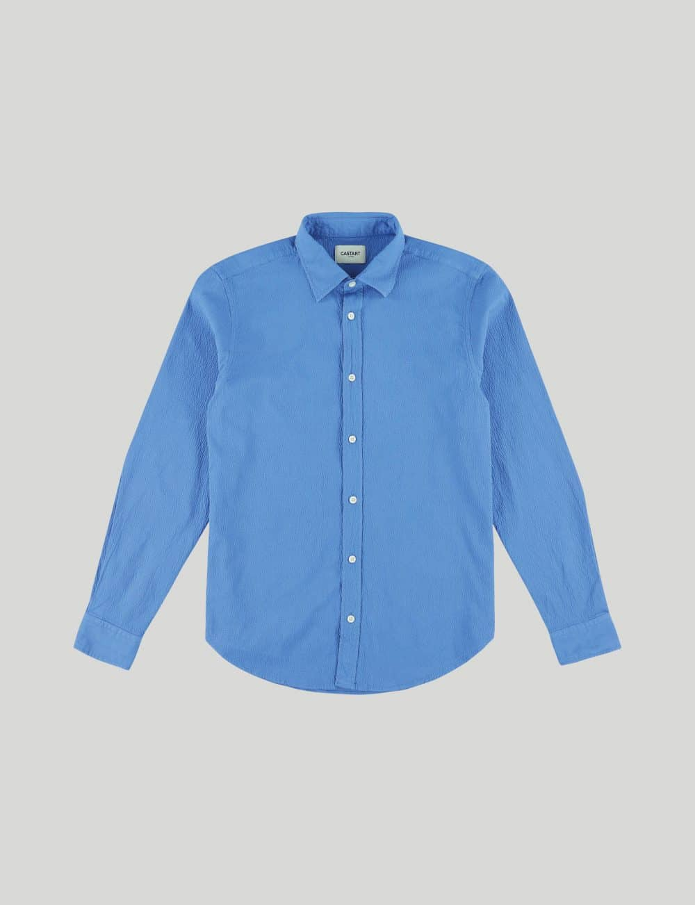 Castart - Tiger Tooth LS Shirt - French Blue