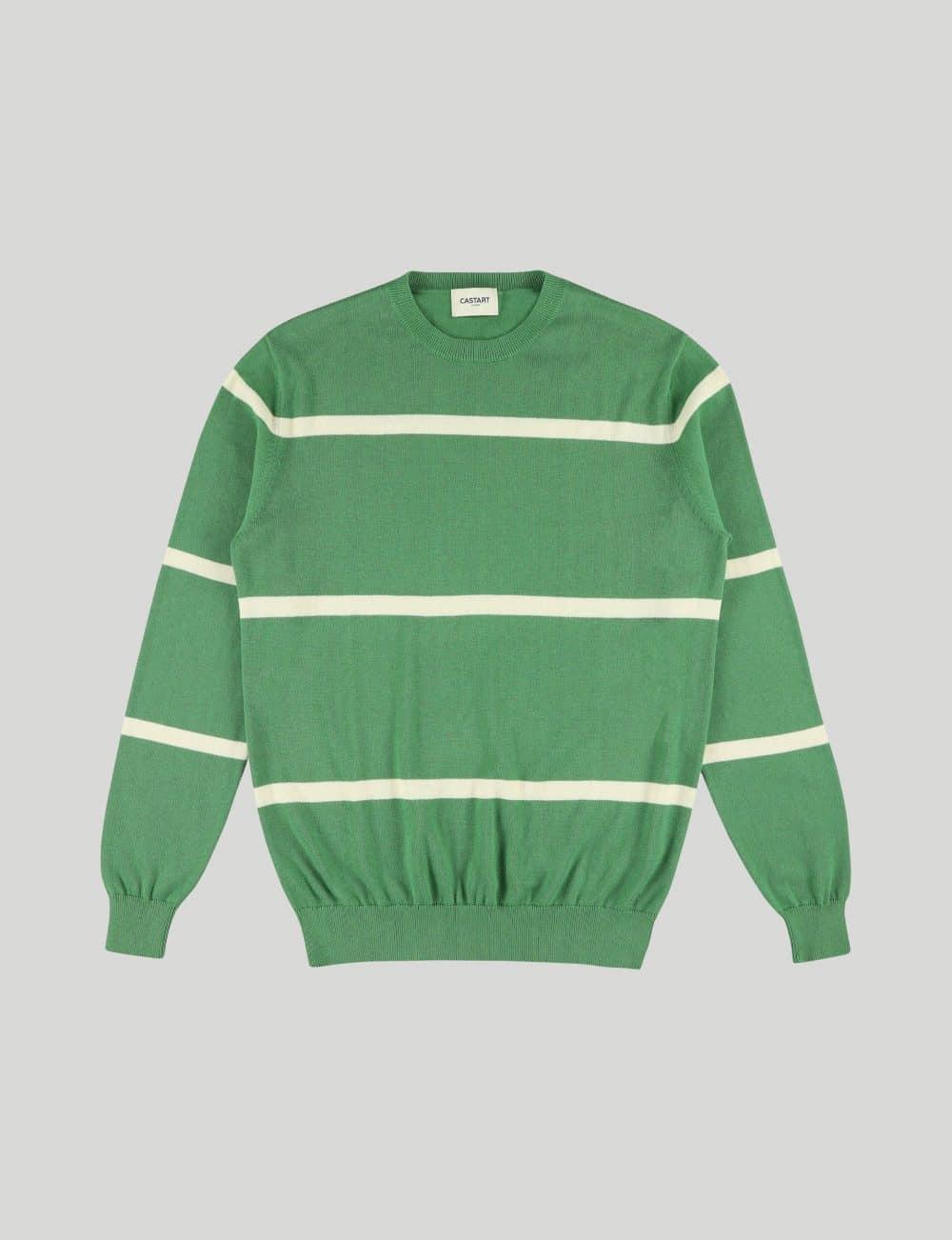 Castart - Pendine knitwear - Green