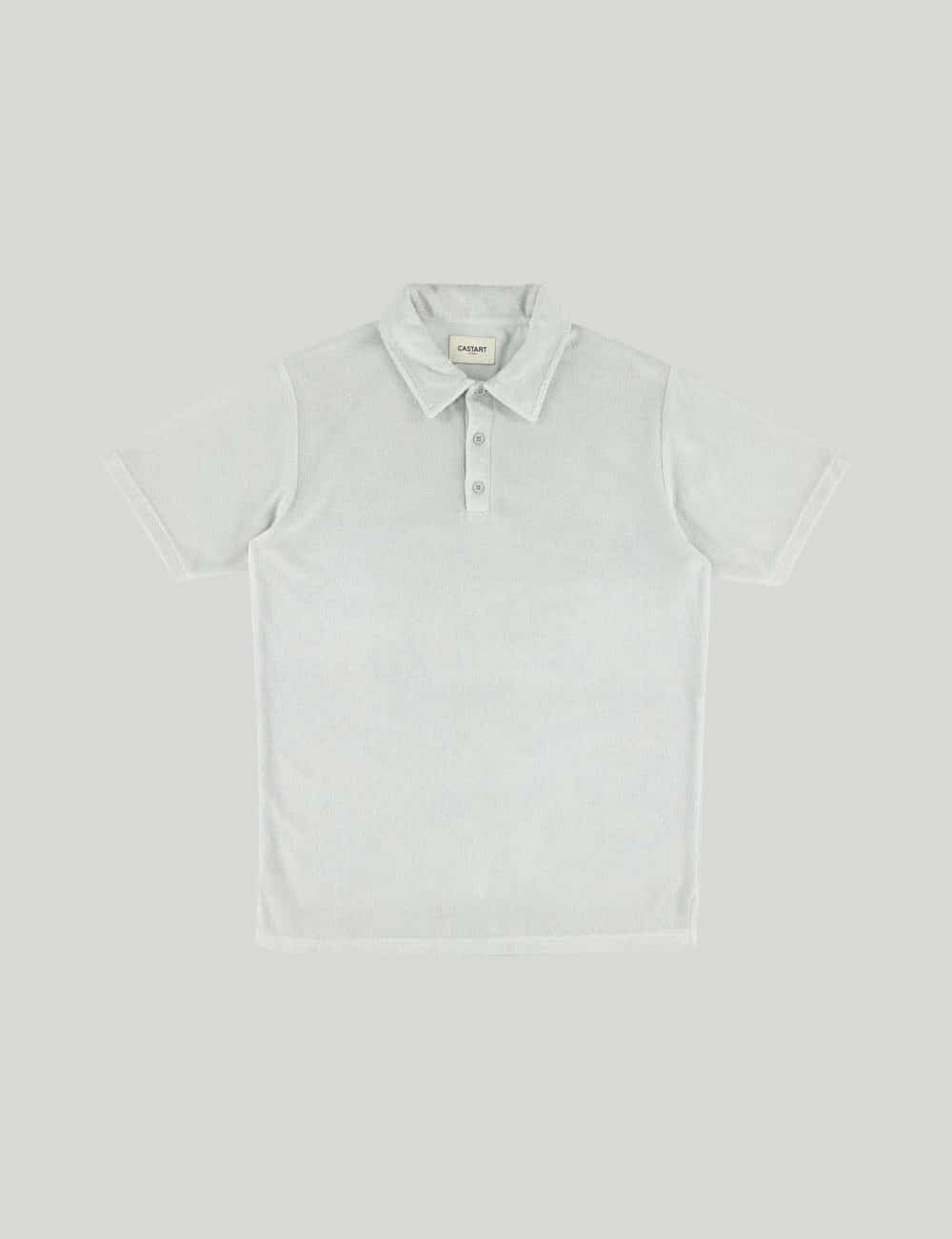 Castart - Seaford polo tee - Middle Grey
