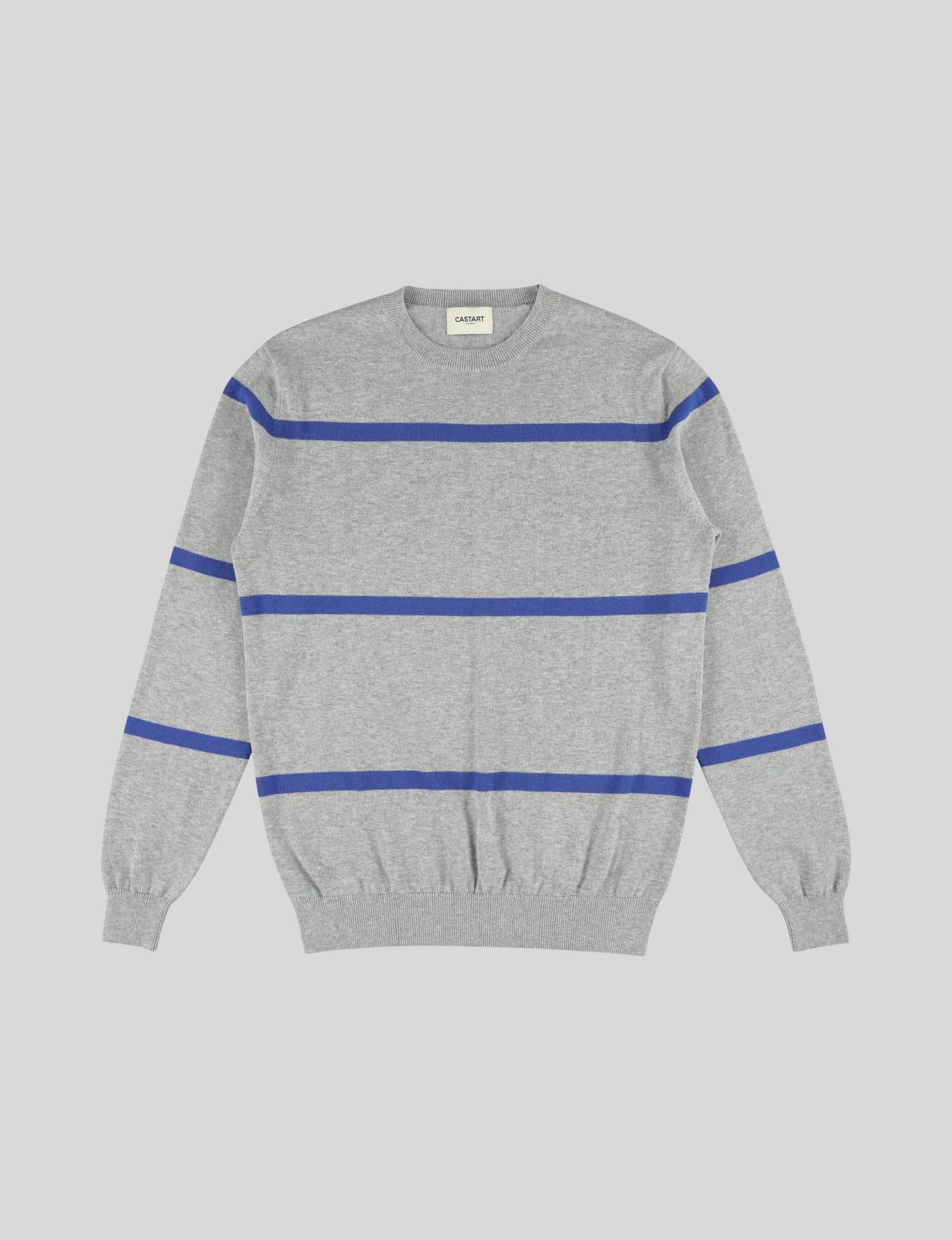 Castart - Pendine knitwear - Middle Grey