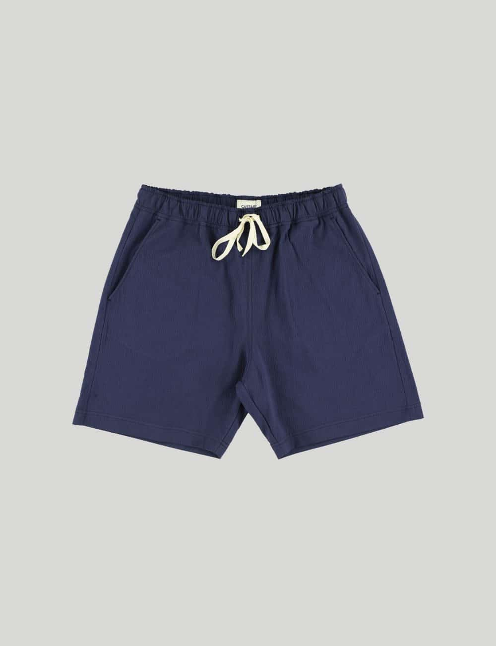 Castart - Tiger Tooth Shorts - Navy Blue