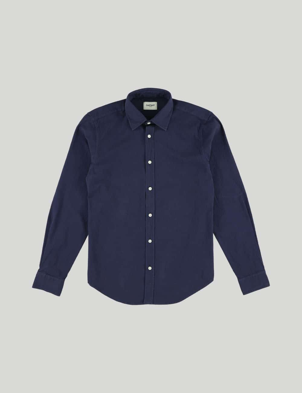 Castart - Tiger Tooth LS Shirt - Navy Blue