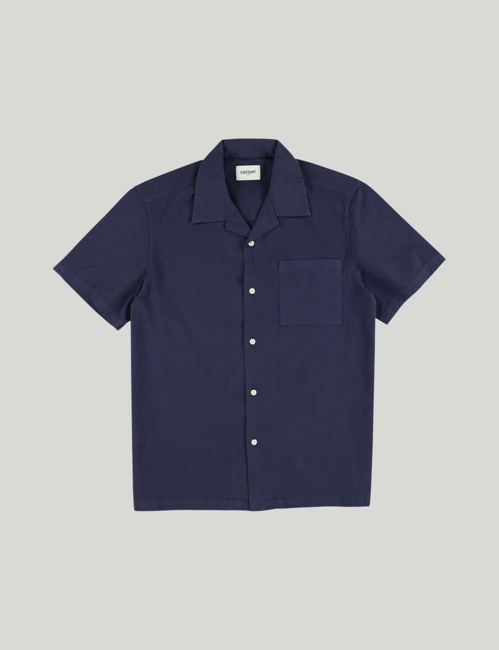 Castart - Tiger Tooth SL Shirt - Navy Blue