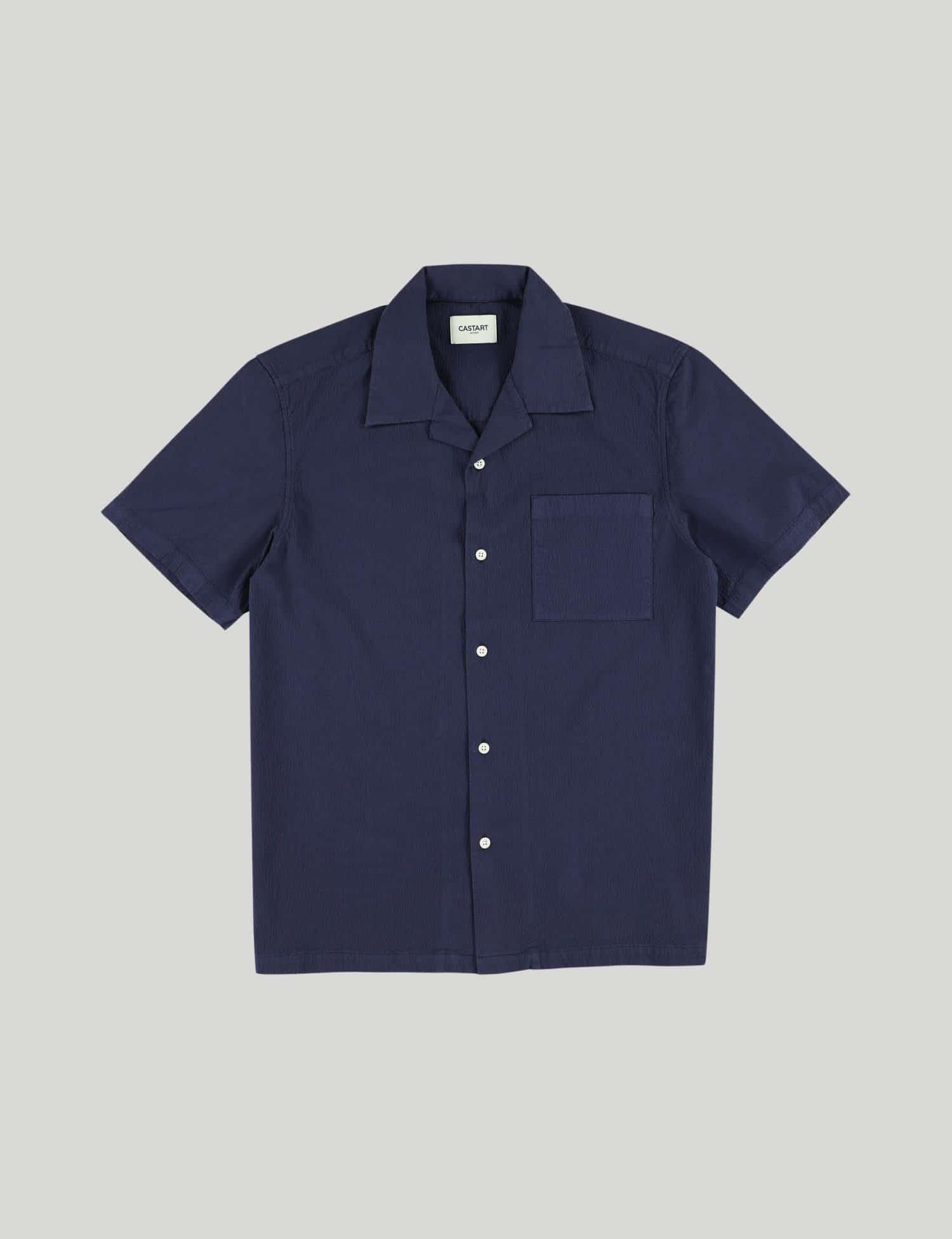 Castart - Tiger Tooth SL Shirt - Navy Blue