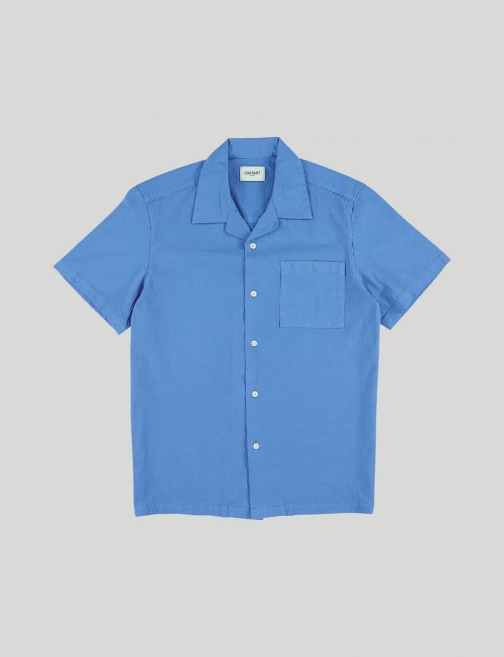 Castart - Tiger Tooth SL Shirt - French Blue