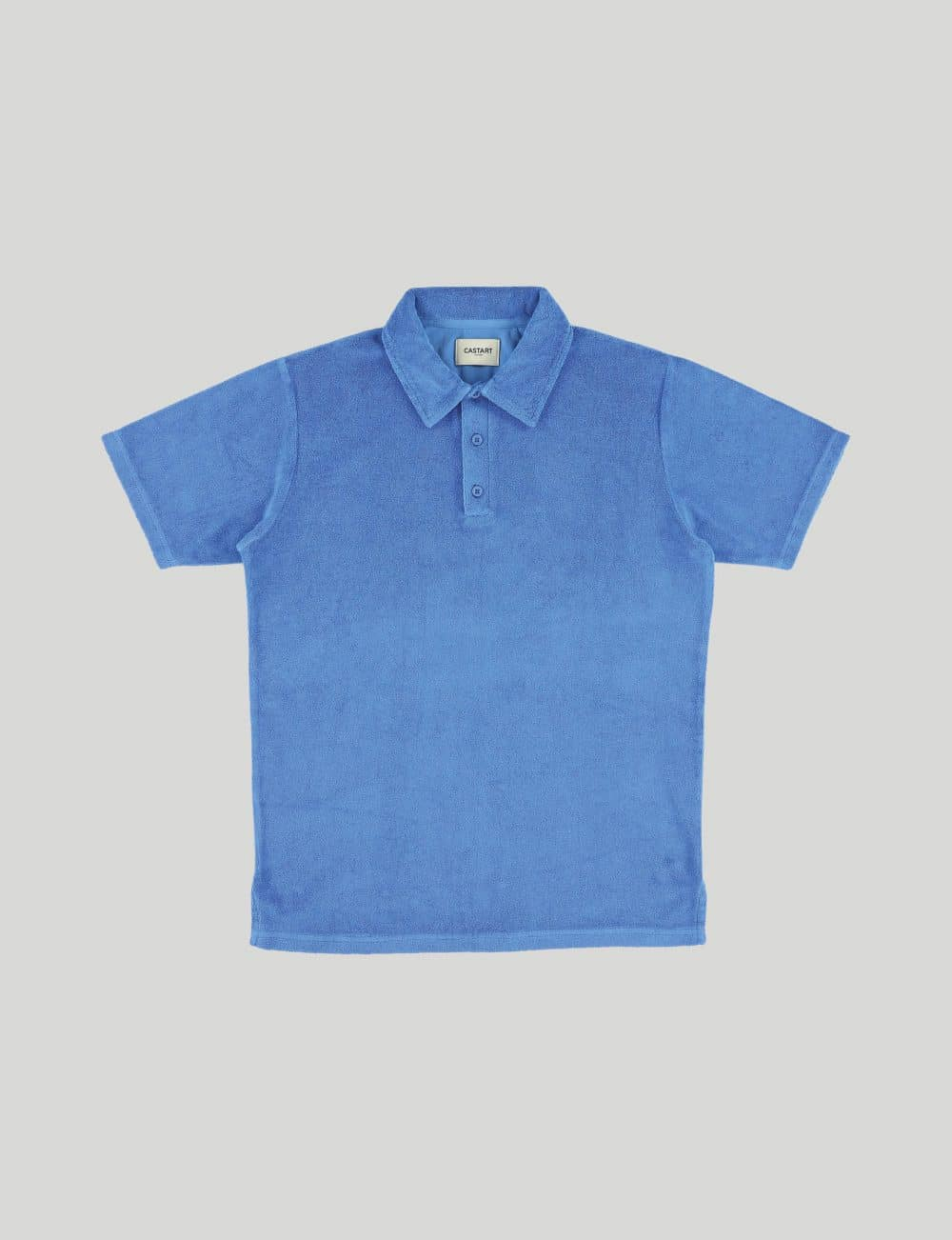 Castart - Seaford polo tee - French Blue