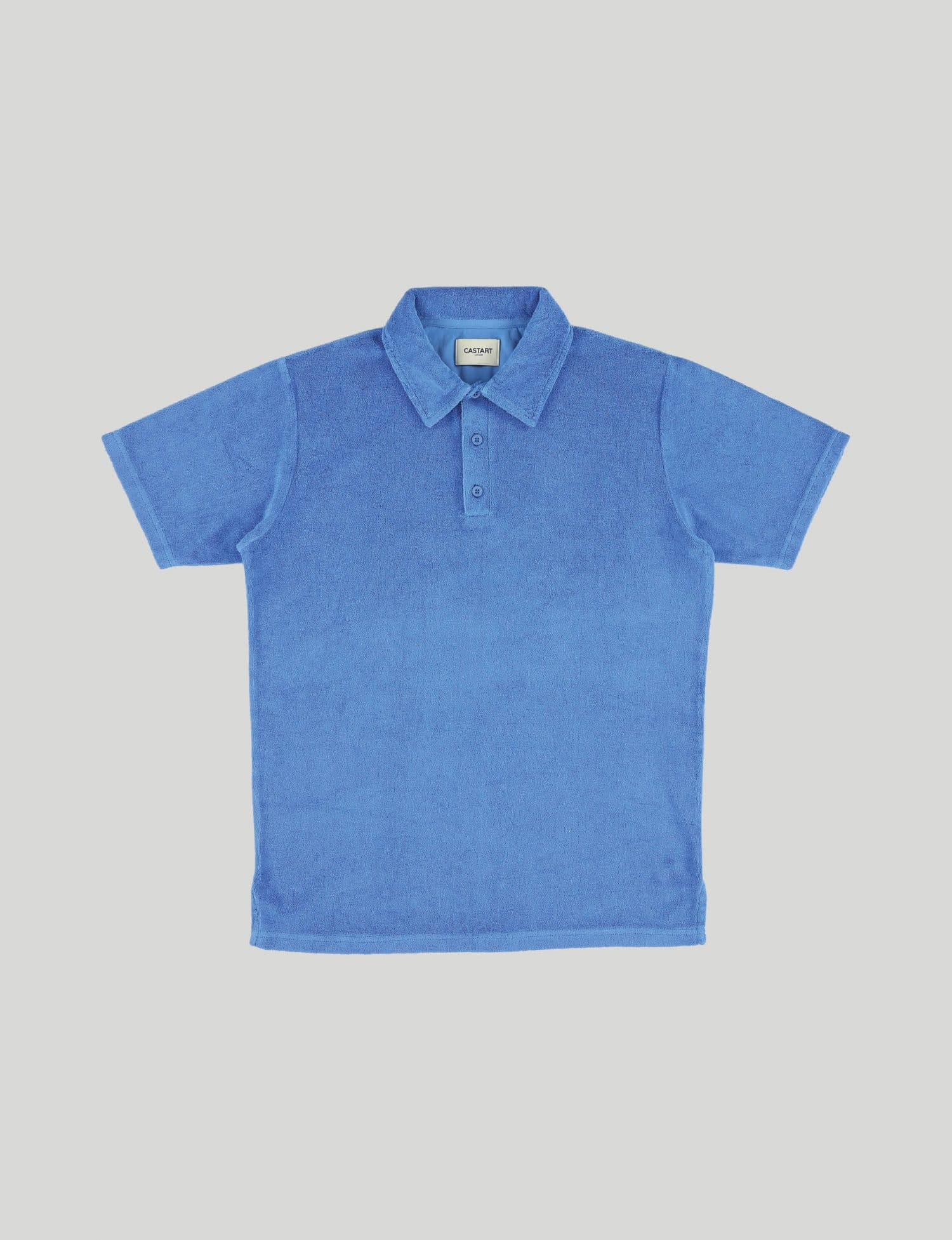 Castart - Seaford polo tee - French Blue