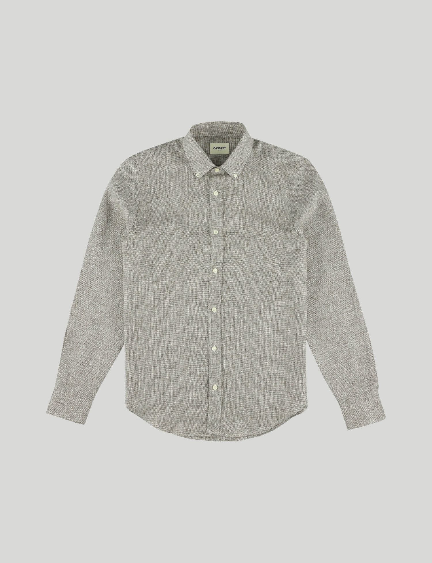 Castart - Devilshead LS Shirt - Brown