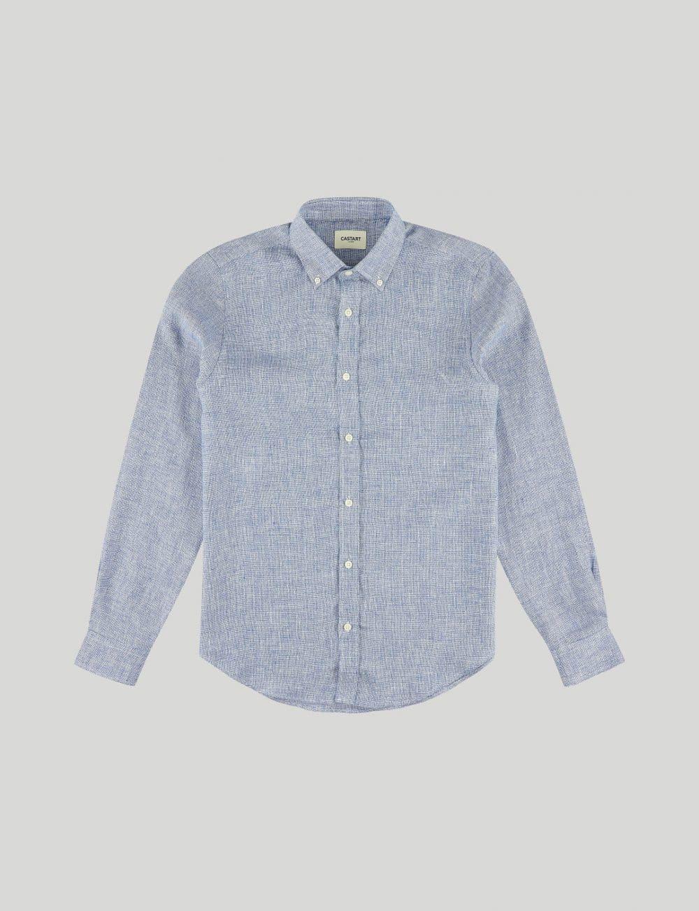Castart - Devilshead LS Shirt - Middle Blue