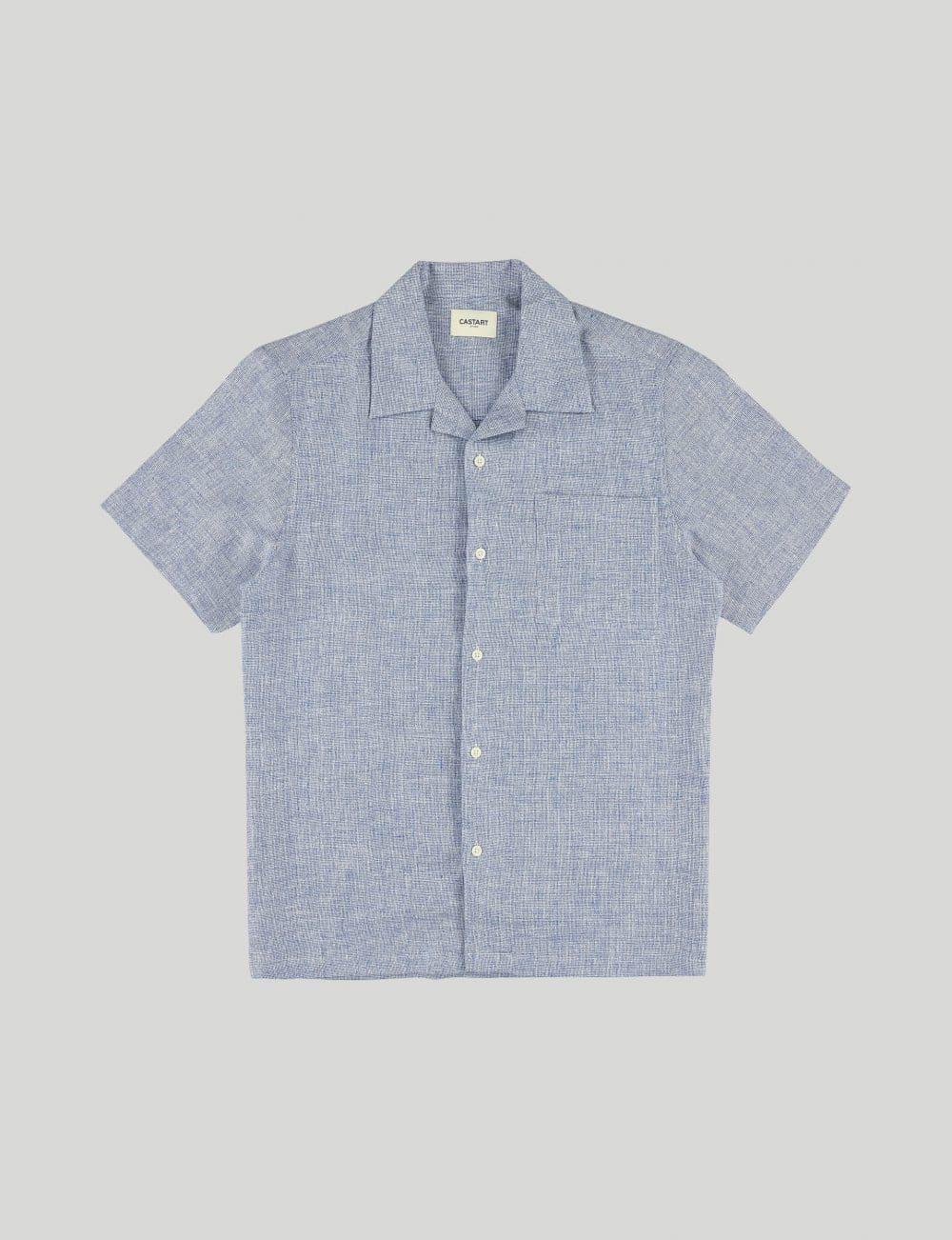 Castart - Devilshead SL Shirt - Middle Blue