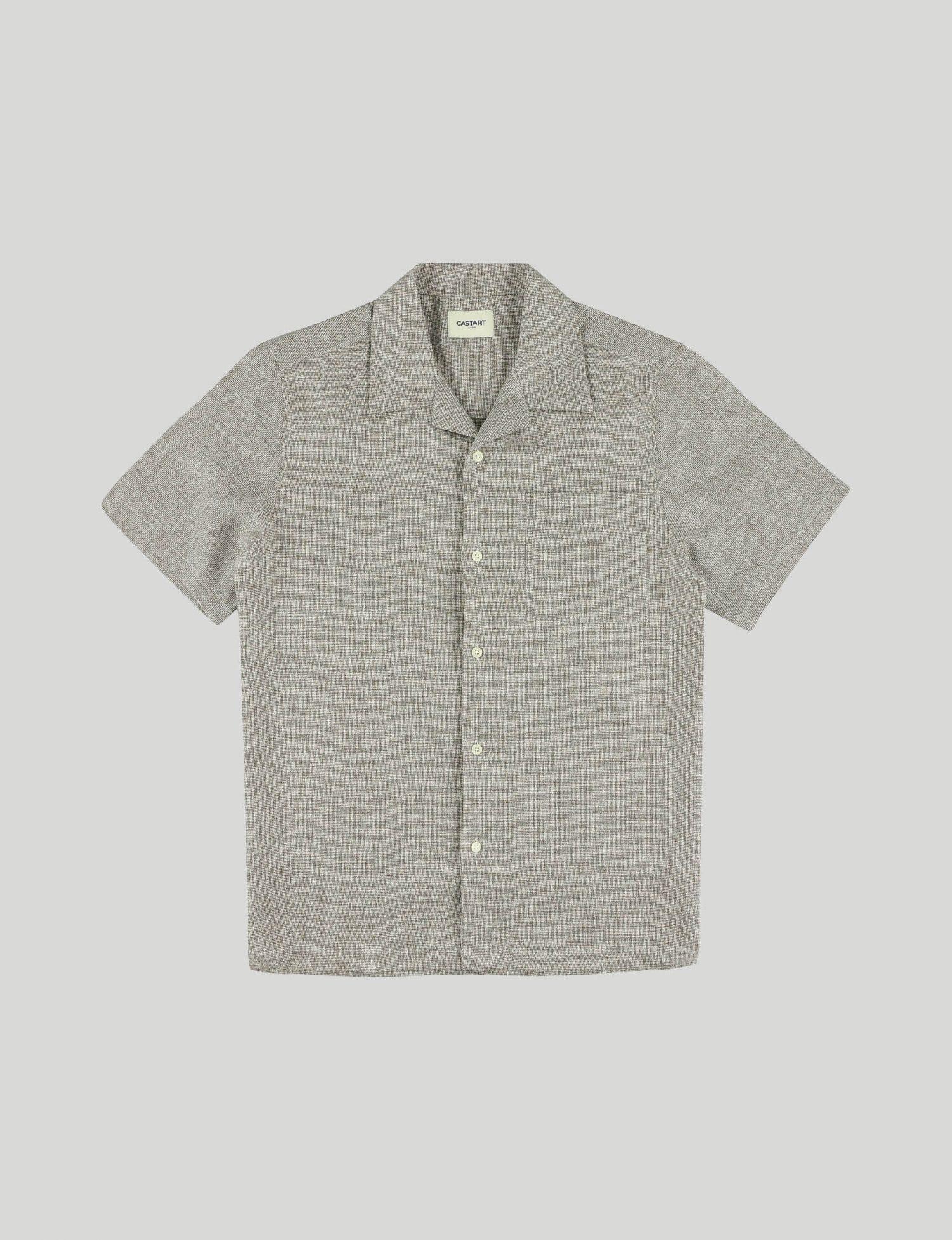 Castart - Devilshead SL Shirt - Brown