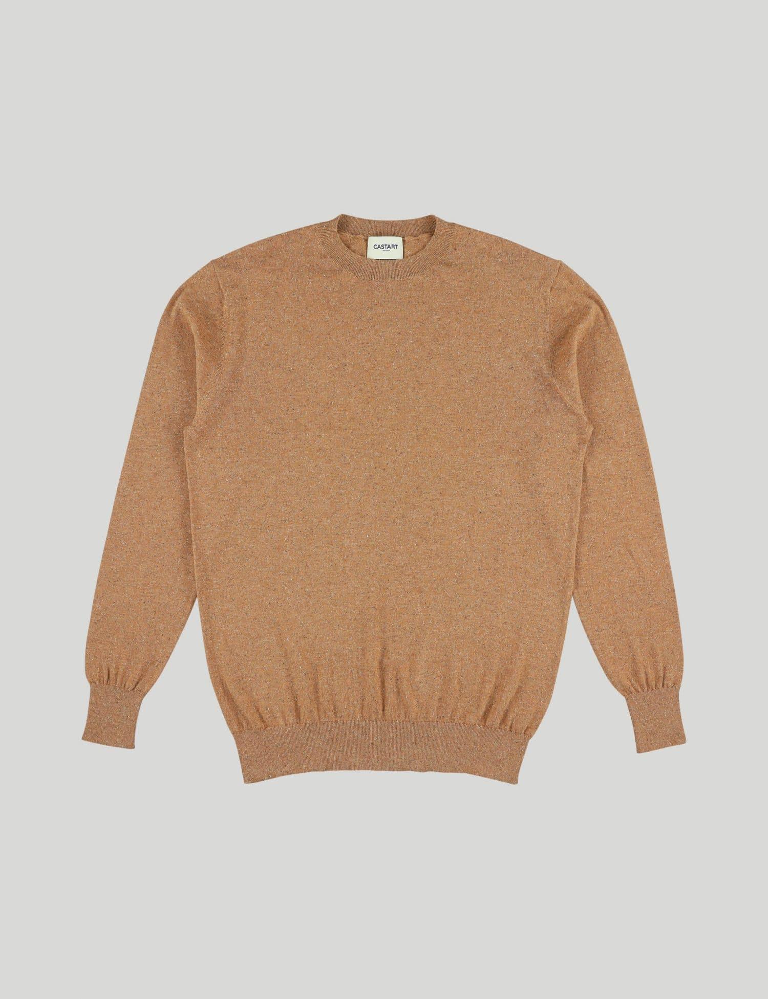 Castart - Talacre knitwear - Rust