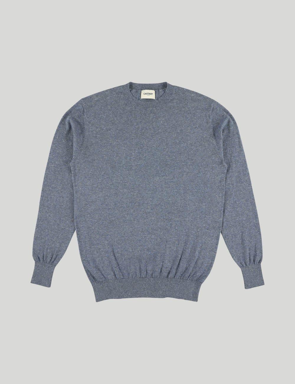Castart - Talacre knitwear - Navy Blue