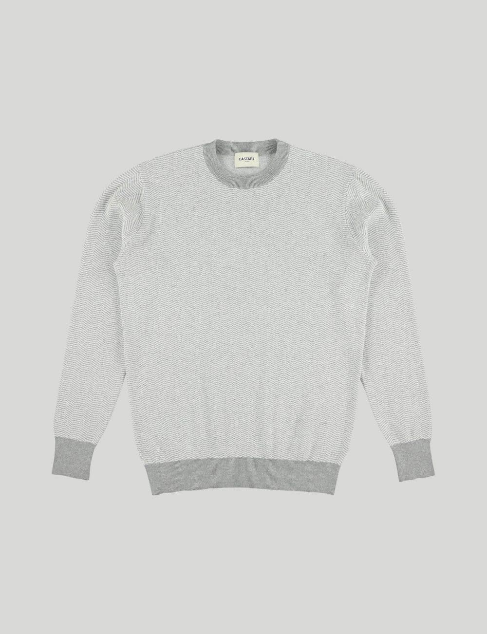 Castart - Knitwear Panda - Light Grey